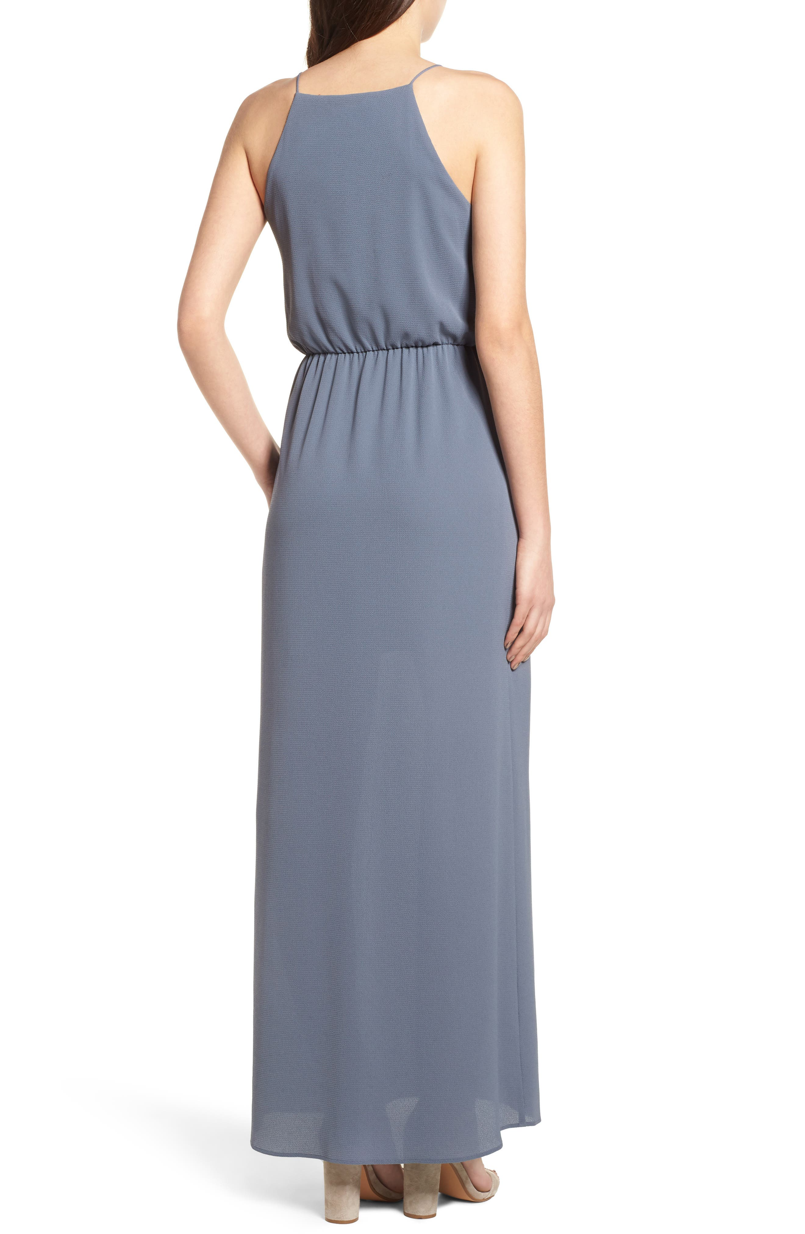 Posie Maxi Dress,                             Alternate thumbnail 2, color,                             Grey Grisaille