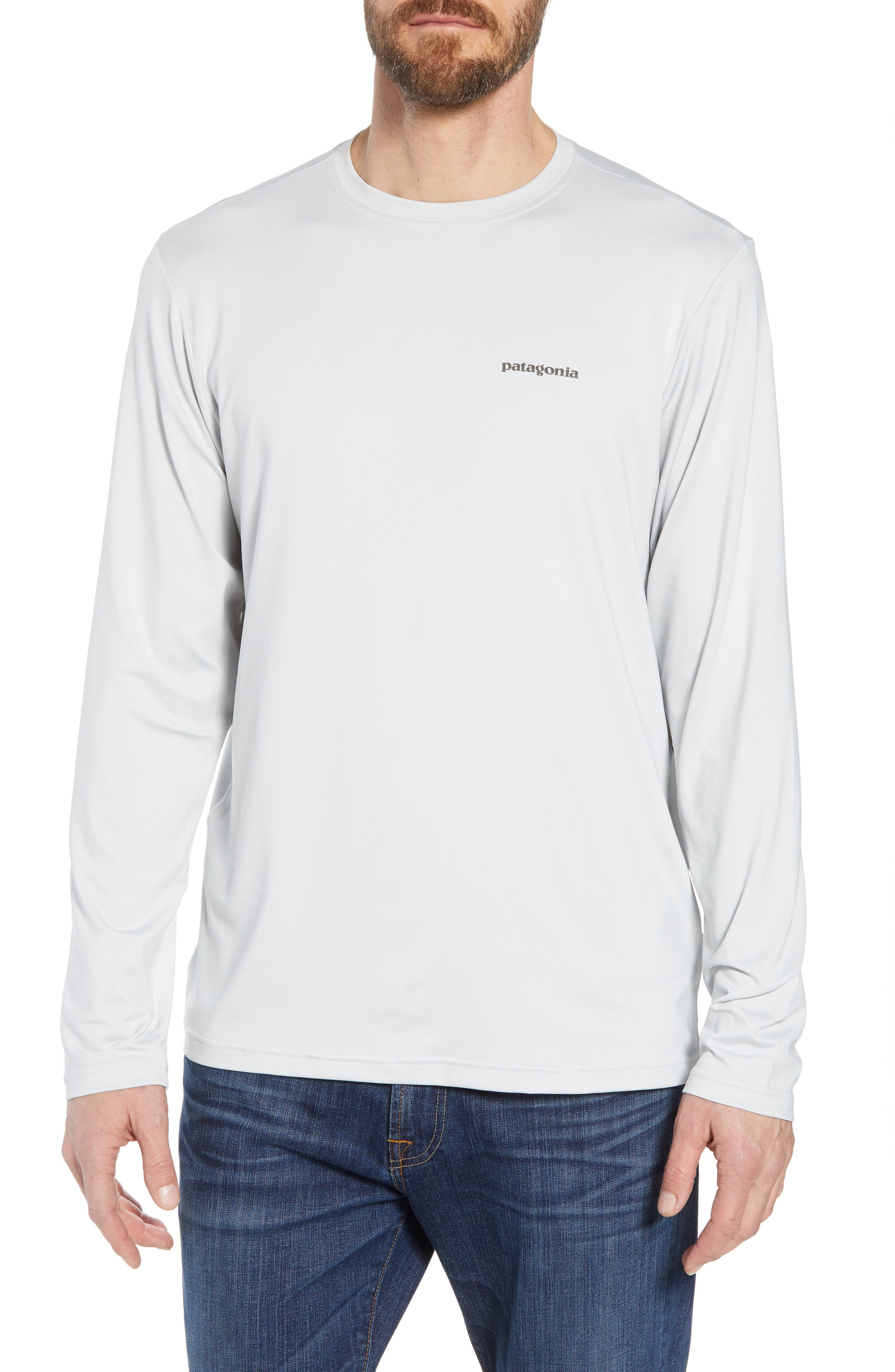 Patagonia Tech Fish Graphic Long Sleeve T-Shirt