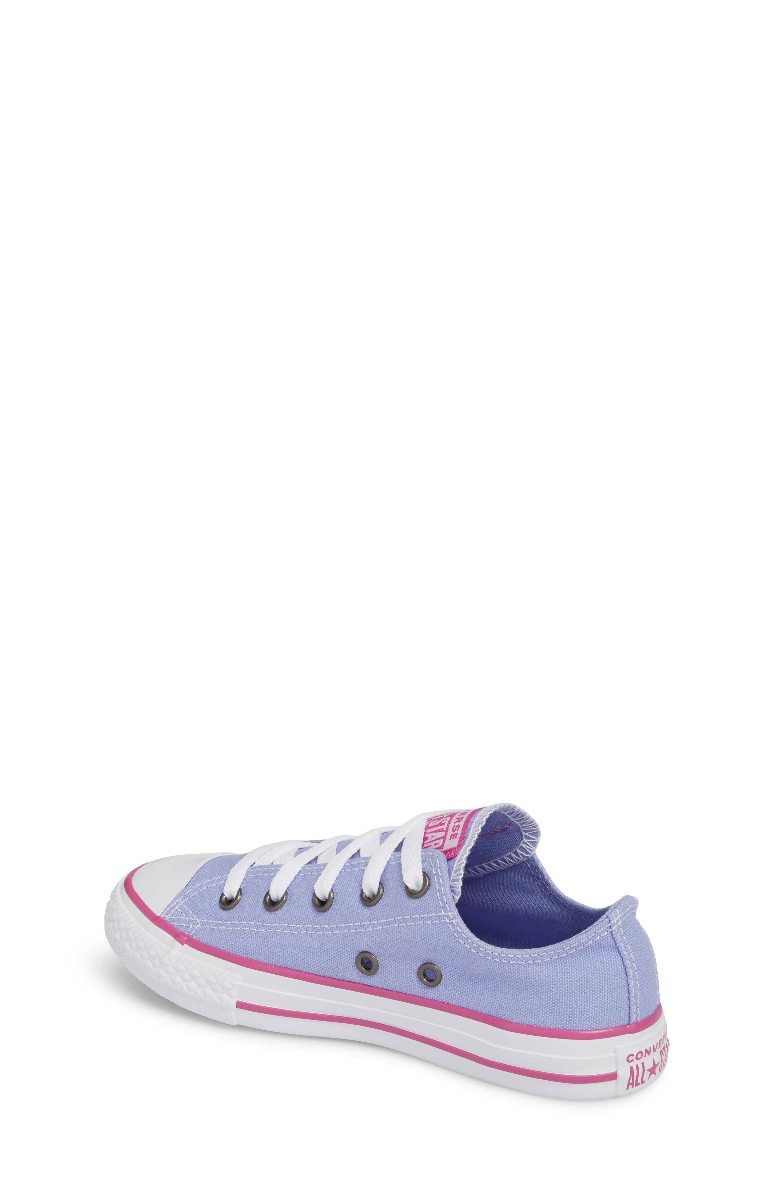 All Star<sup>®</sup> Low Top Sneaker,                             Alternate thumbnail 2, color,                             Twilight Purple