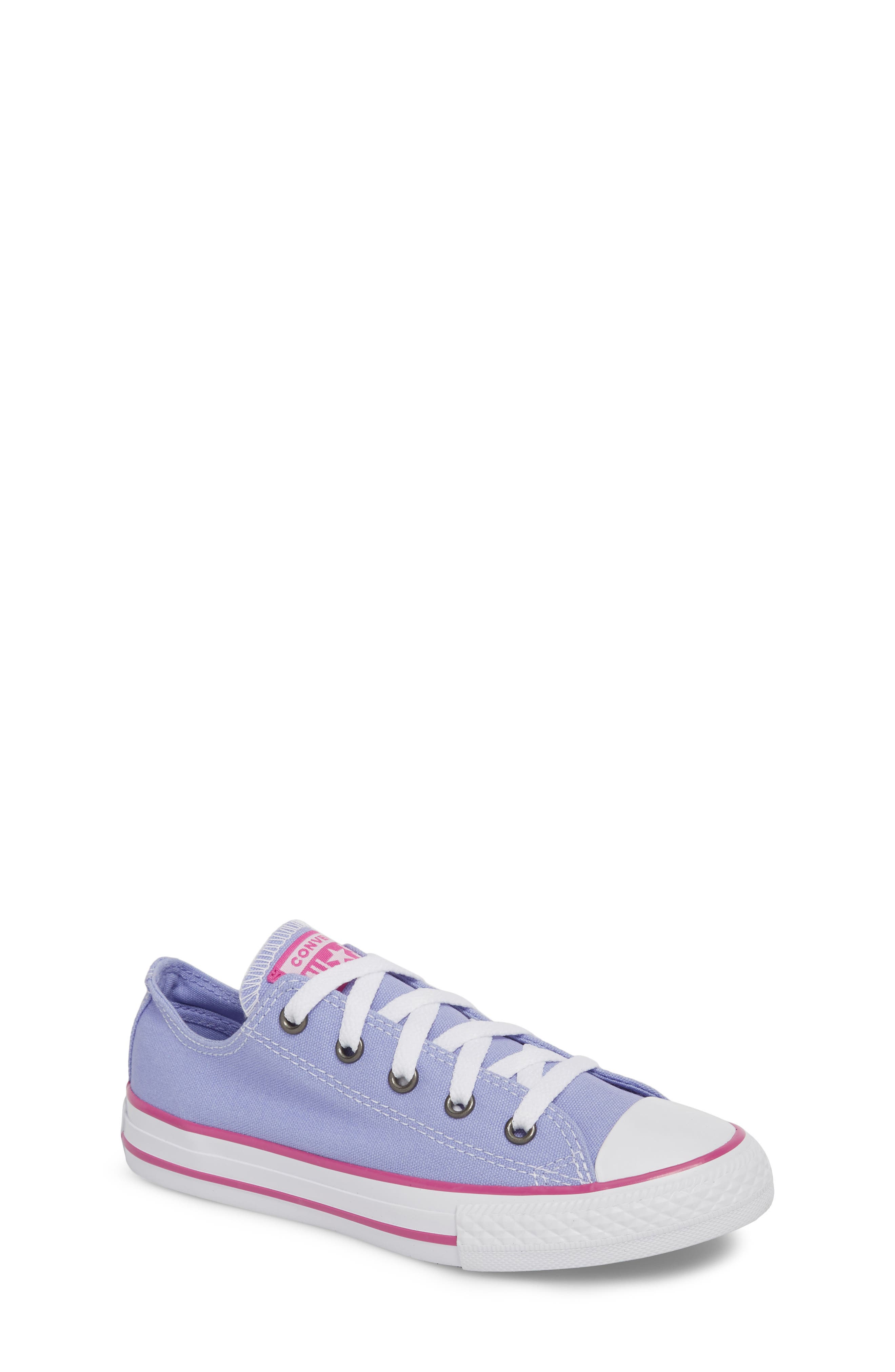 All Star<sup>®</sup> Low Top Sneaker,                         Main,                         color, Twilight Purple