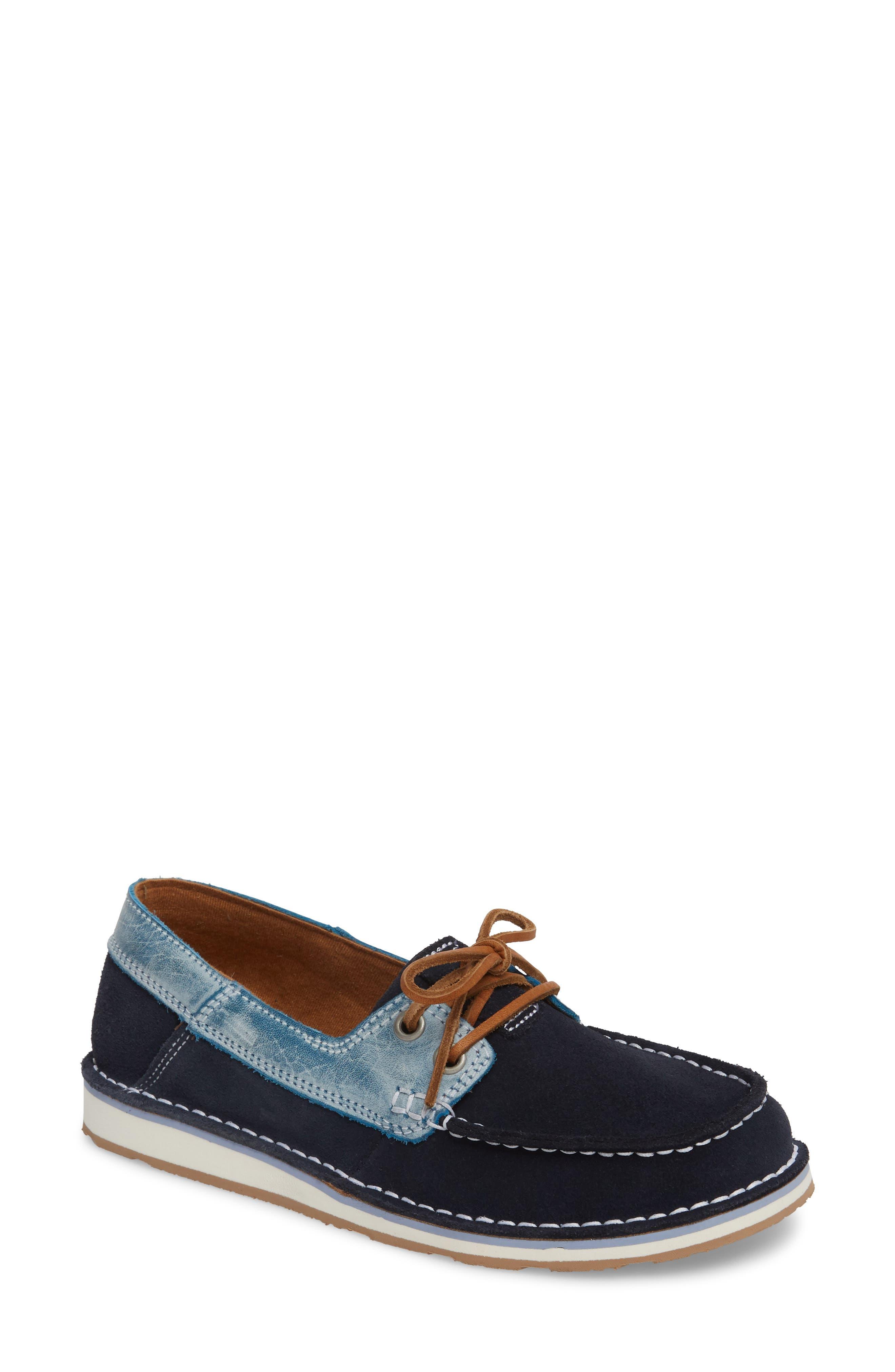 Cruiser Castaway Loafer, Ice Blue Suede