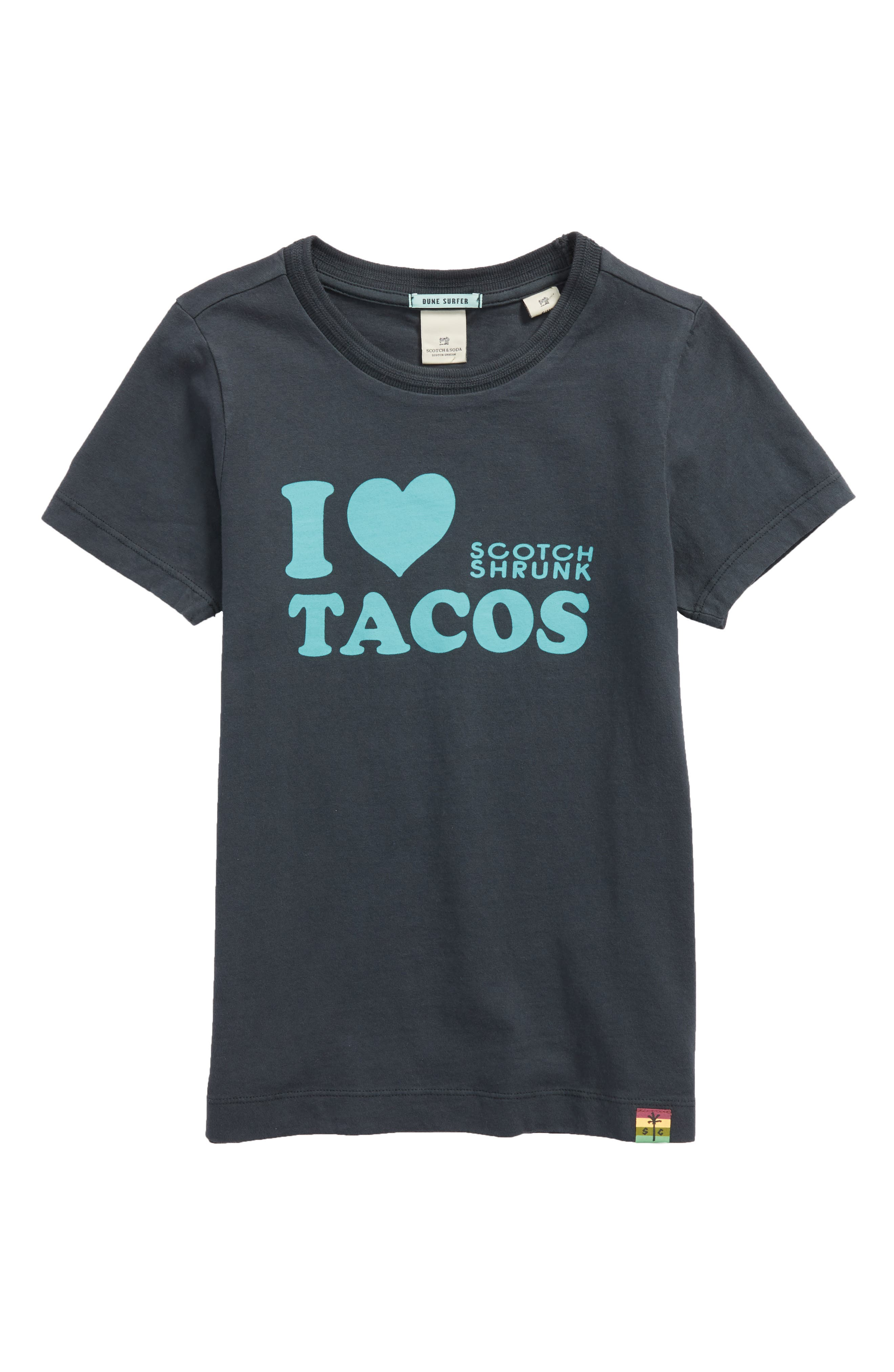 I Love Tacos T-Shirt,                             Main thumbnail 1, color,                             Antra