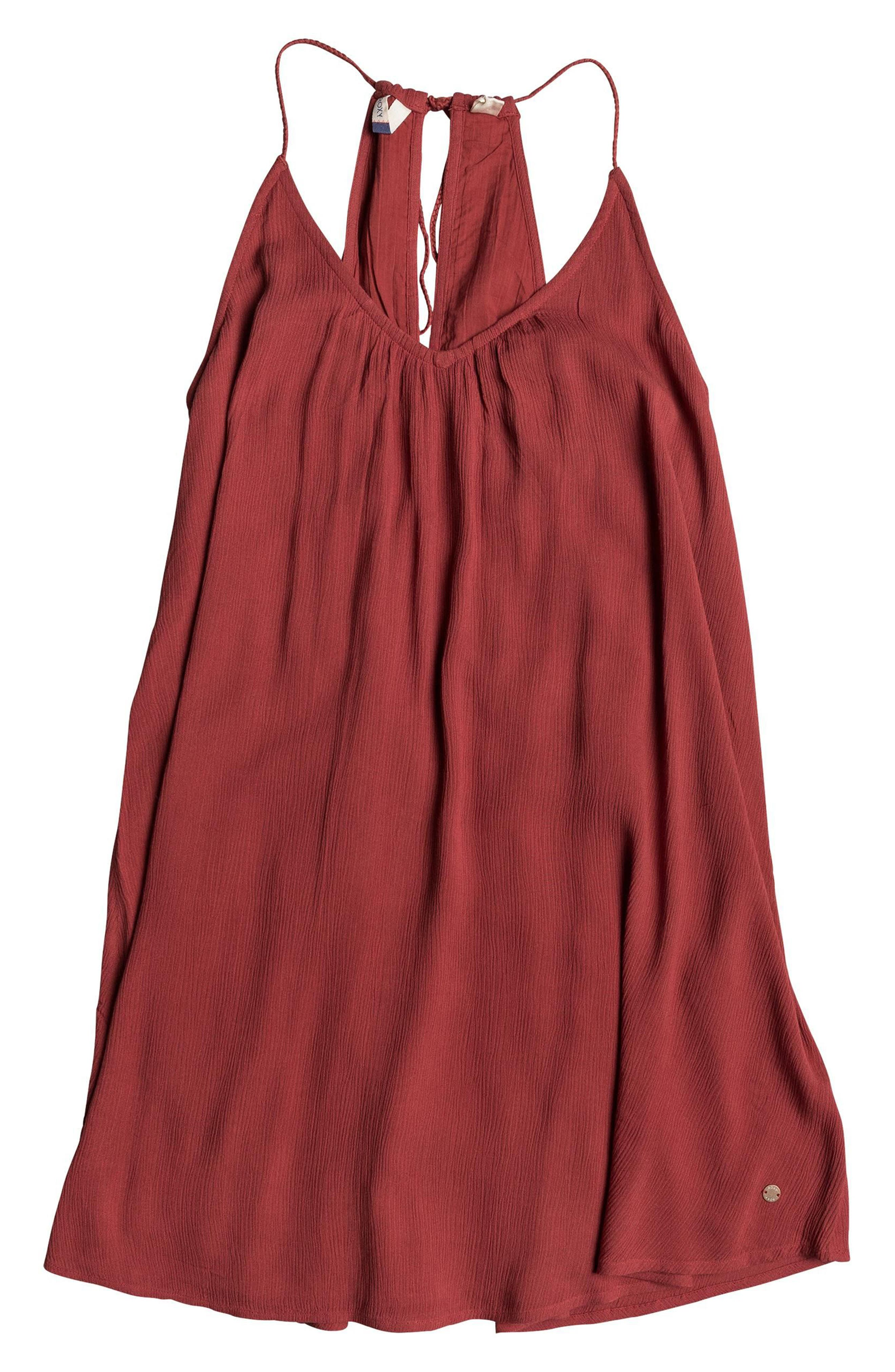 Great Intentions Trapeze Dress,                             Alternate thumbnail 4, color,                             Tandoori Spice