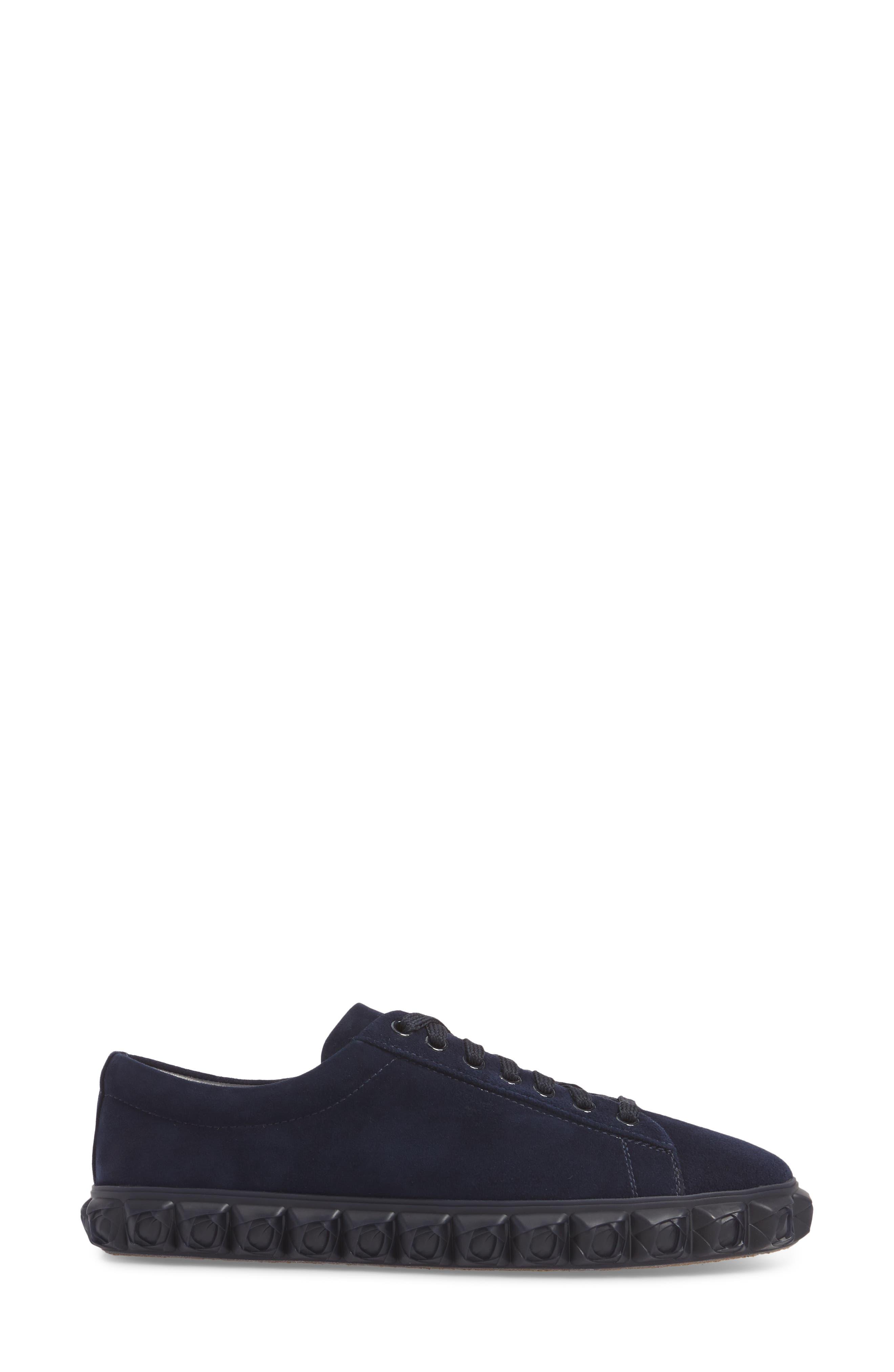 Coverstory Sneaker,                             Alternate thumbnail 4, color,                             Navy Seda Suede