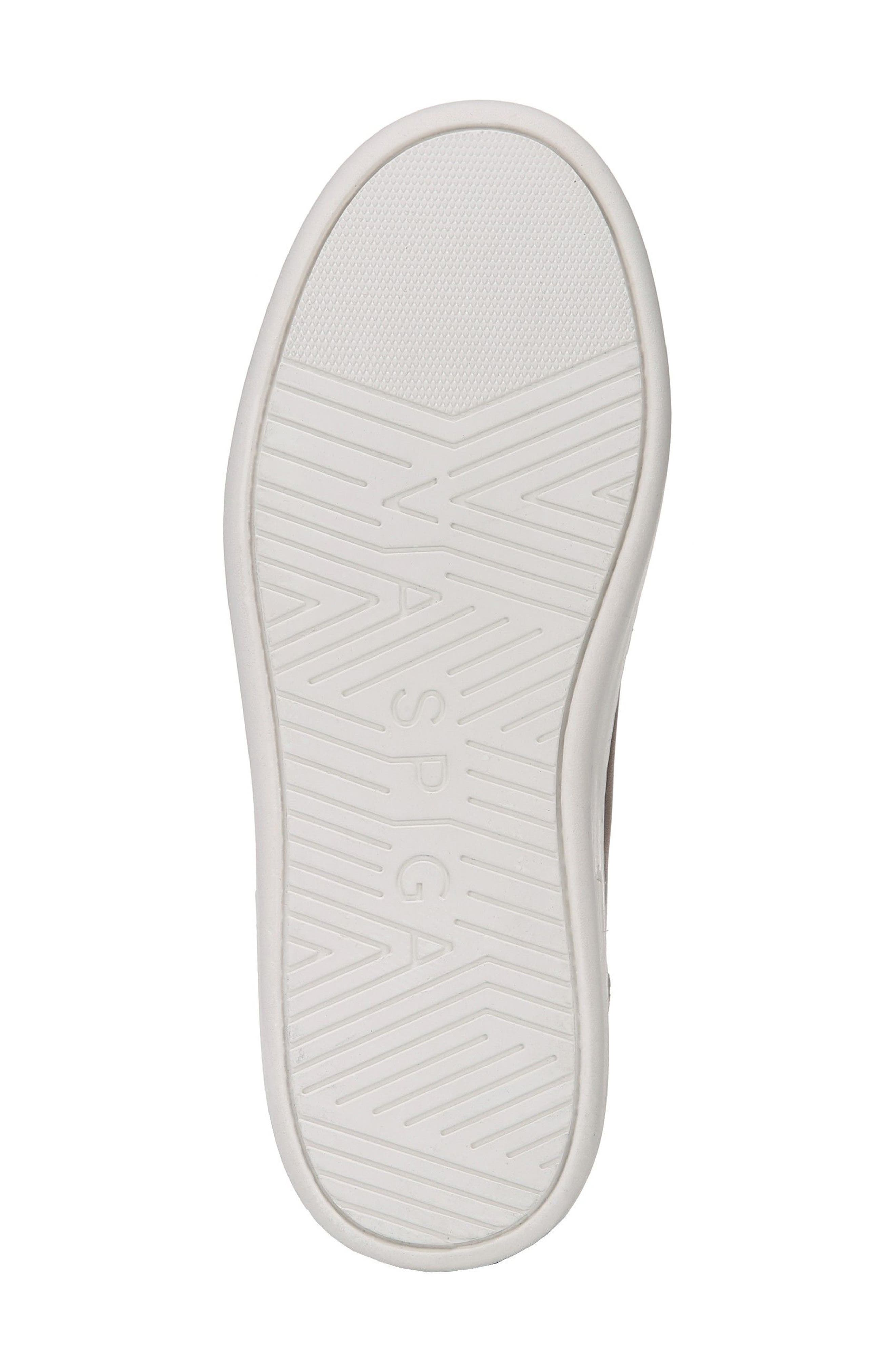 Rylen Platform Sneaker,                             Alternate thumbnail 6, color,                             Porcini/ Black/ White Leather