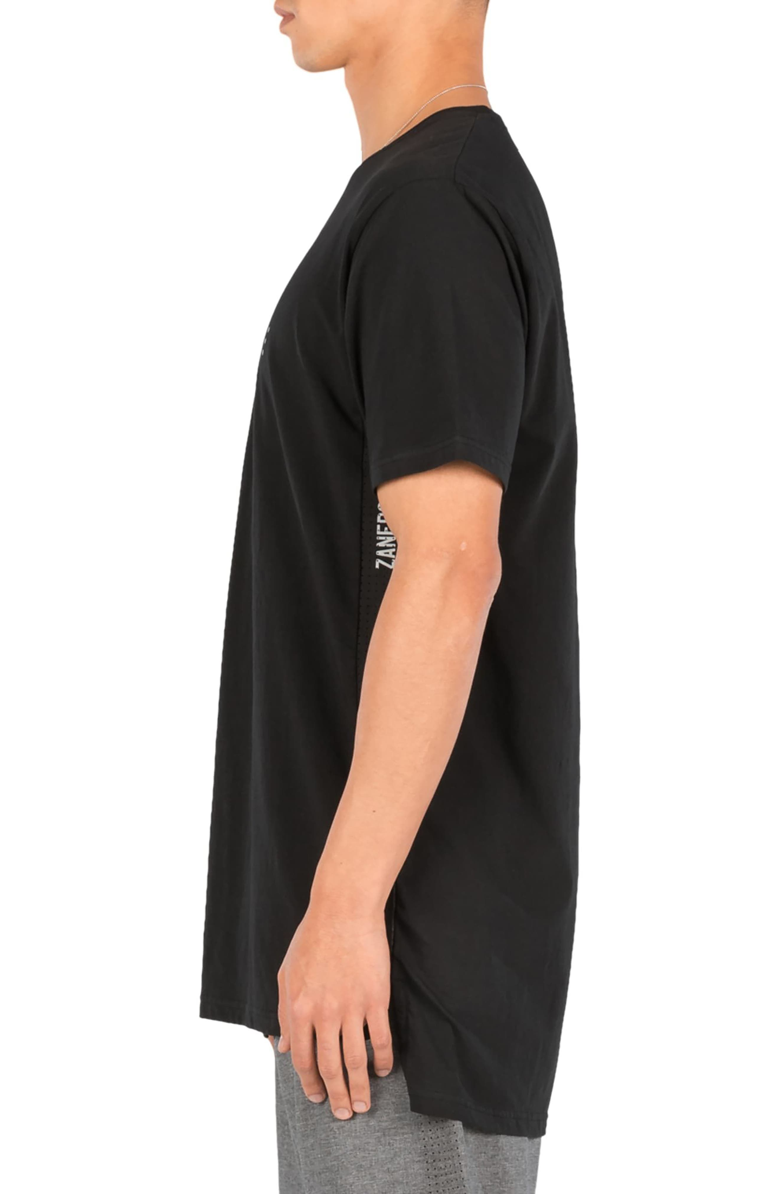 Flintlock Performance T-Shirt,                             Alternate thumbnail 3, color,                             Black