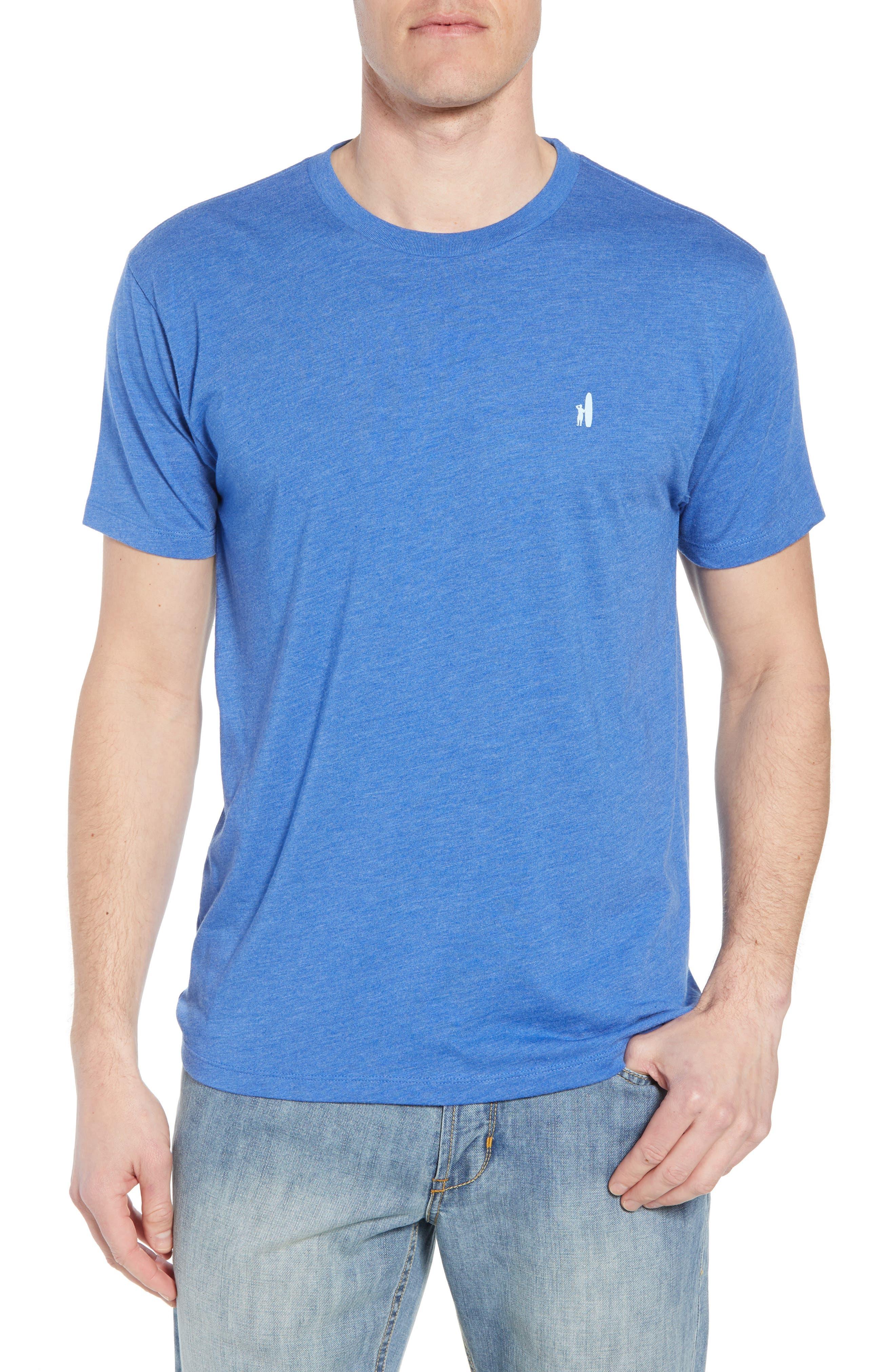 Cali Stripe Graphic T-Shirt,                             Main thumbnail 1, color,                             Ripple