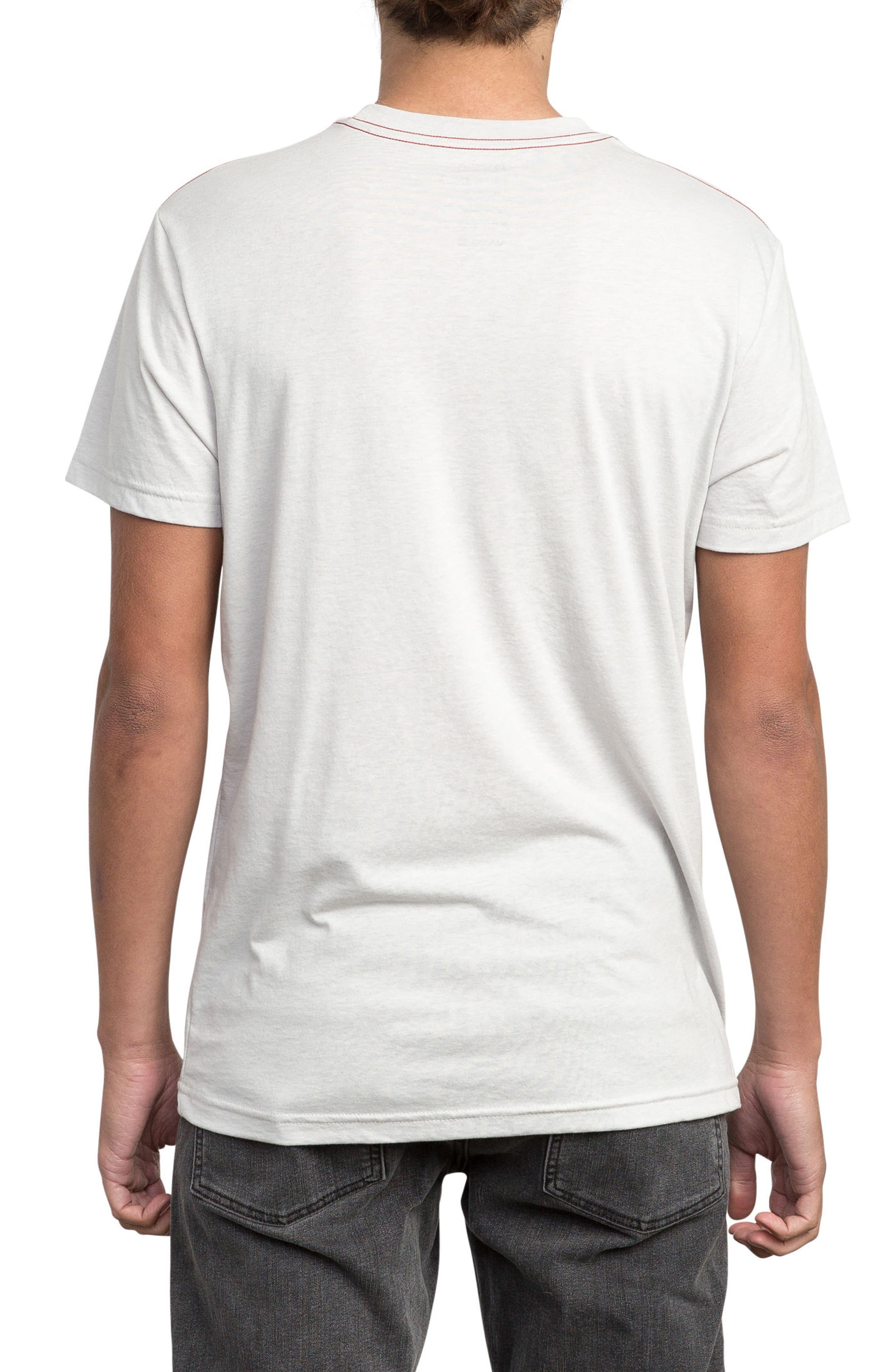 Alternate Image 2  - RVCA McFloral T-Shirt