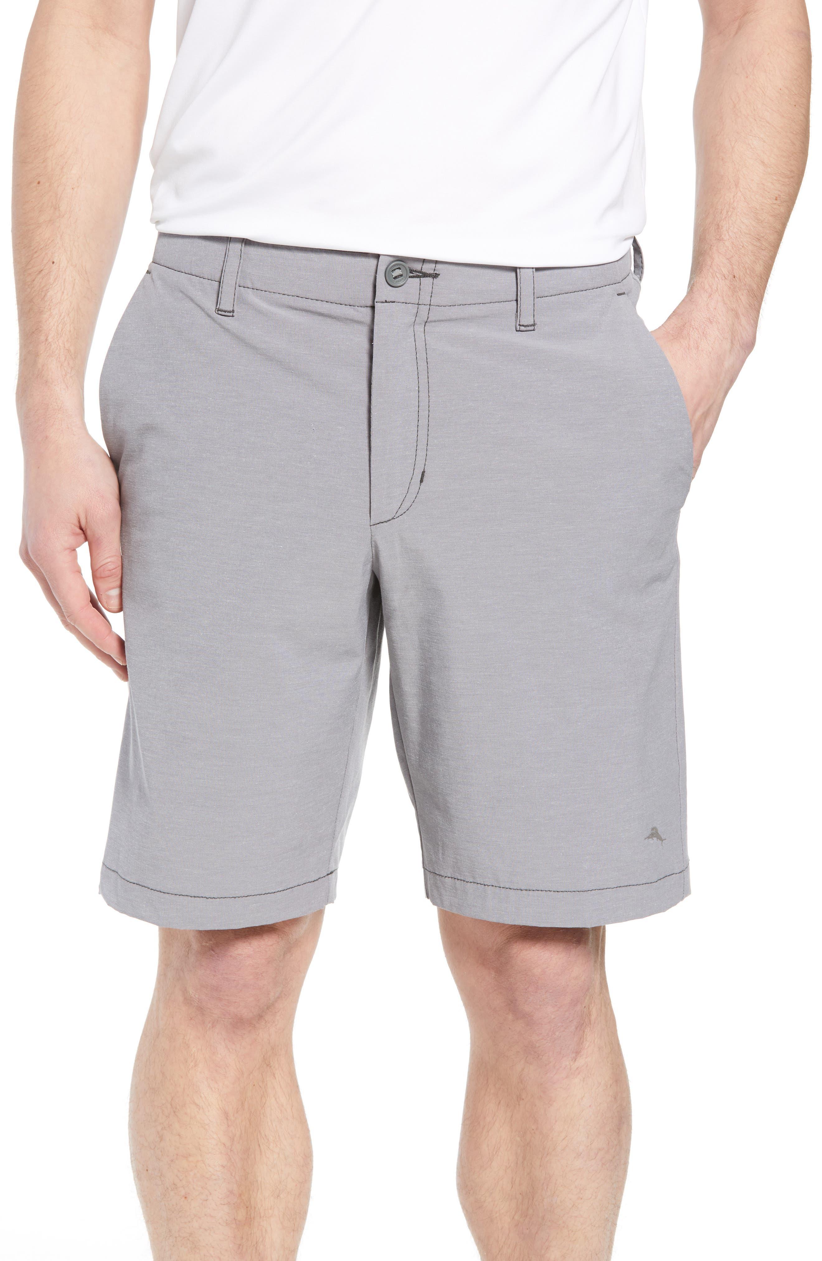 Chip & Run Shorts,                         Main,                         color, Storm Gray