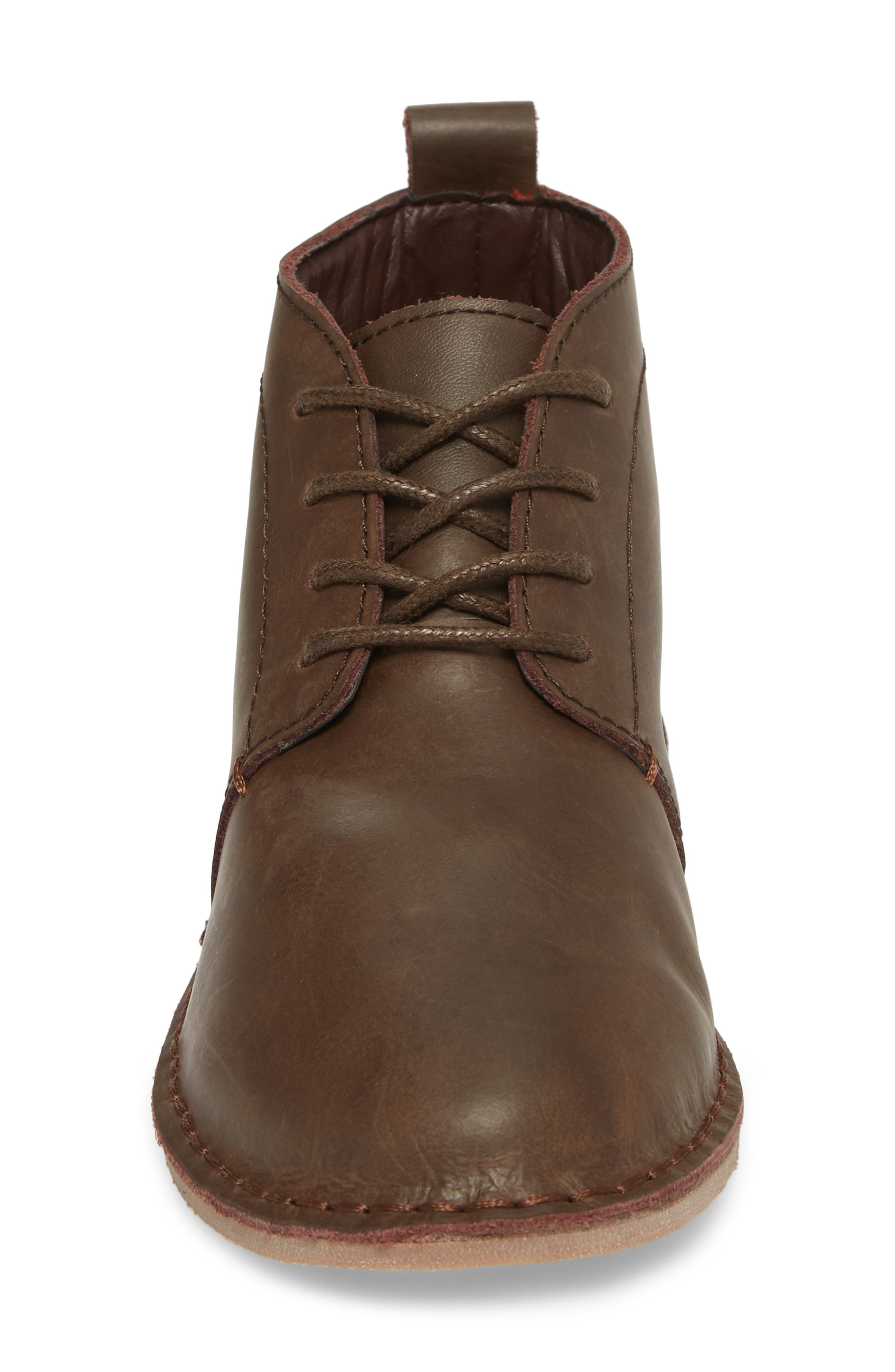 Finley Boot,                             Alternate thumbnail 4, color,                             Chocolate Leather