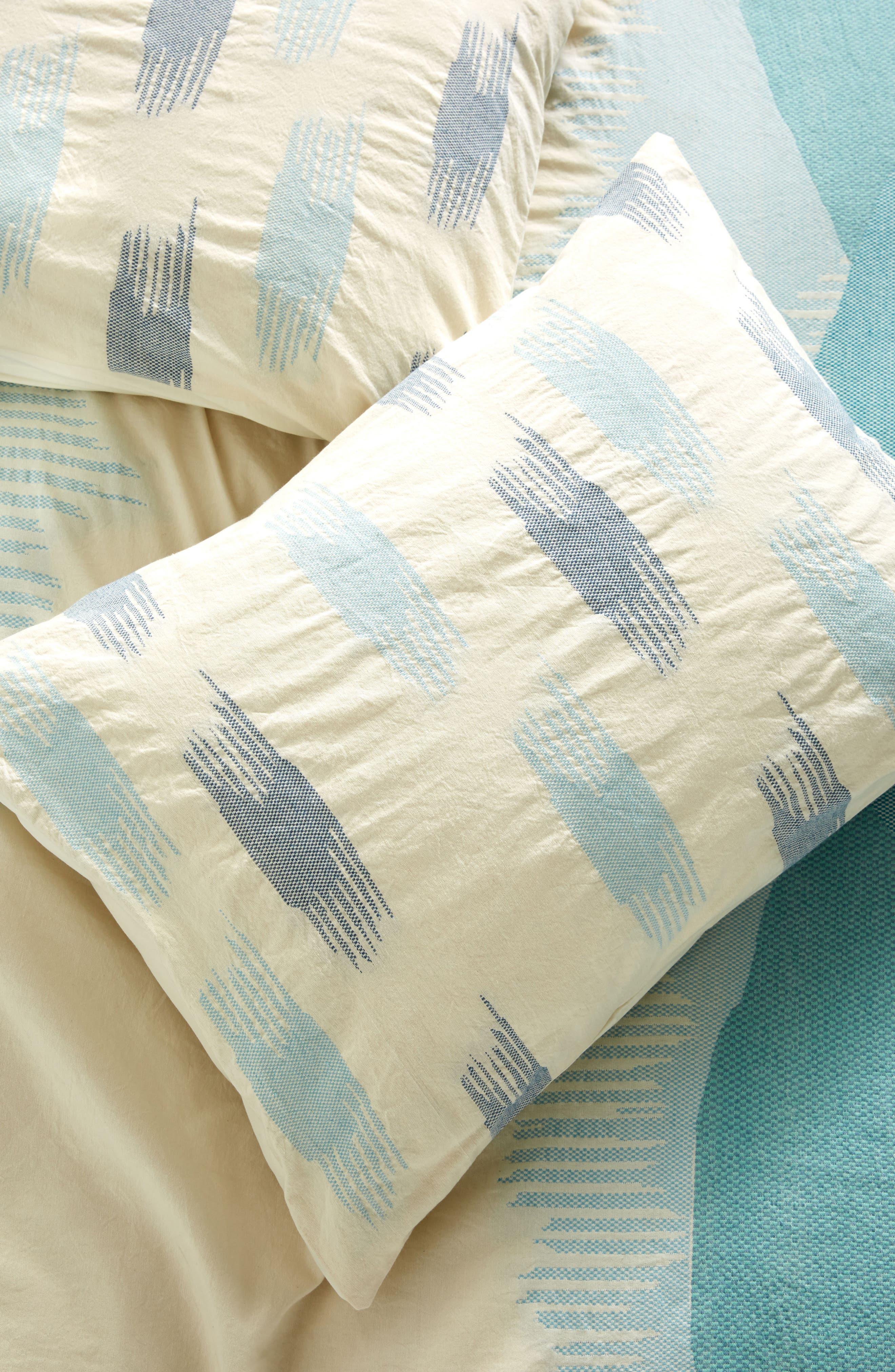 Alternate Image 1 Selected - Anthropologie Woven Calera Pillow Shams
