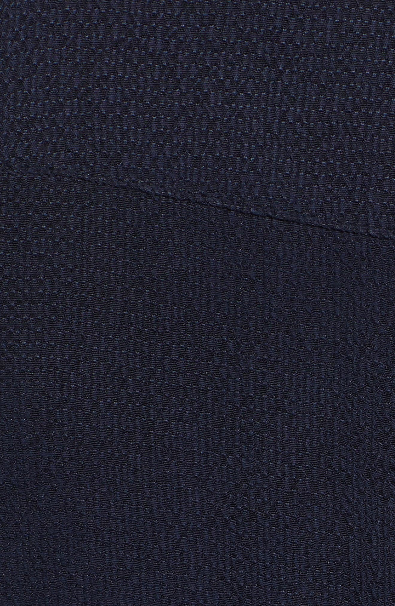 Downstairs Crop Jumpsuit,                             Alternate thumbnail 6, color,                             Navy