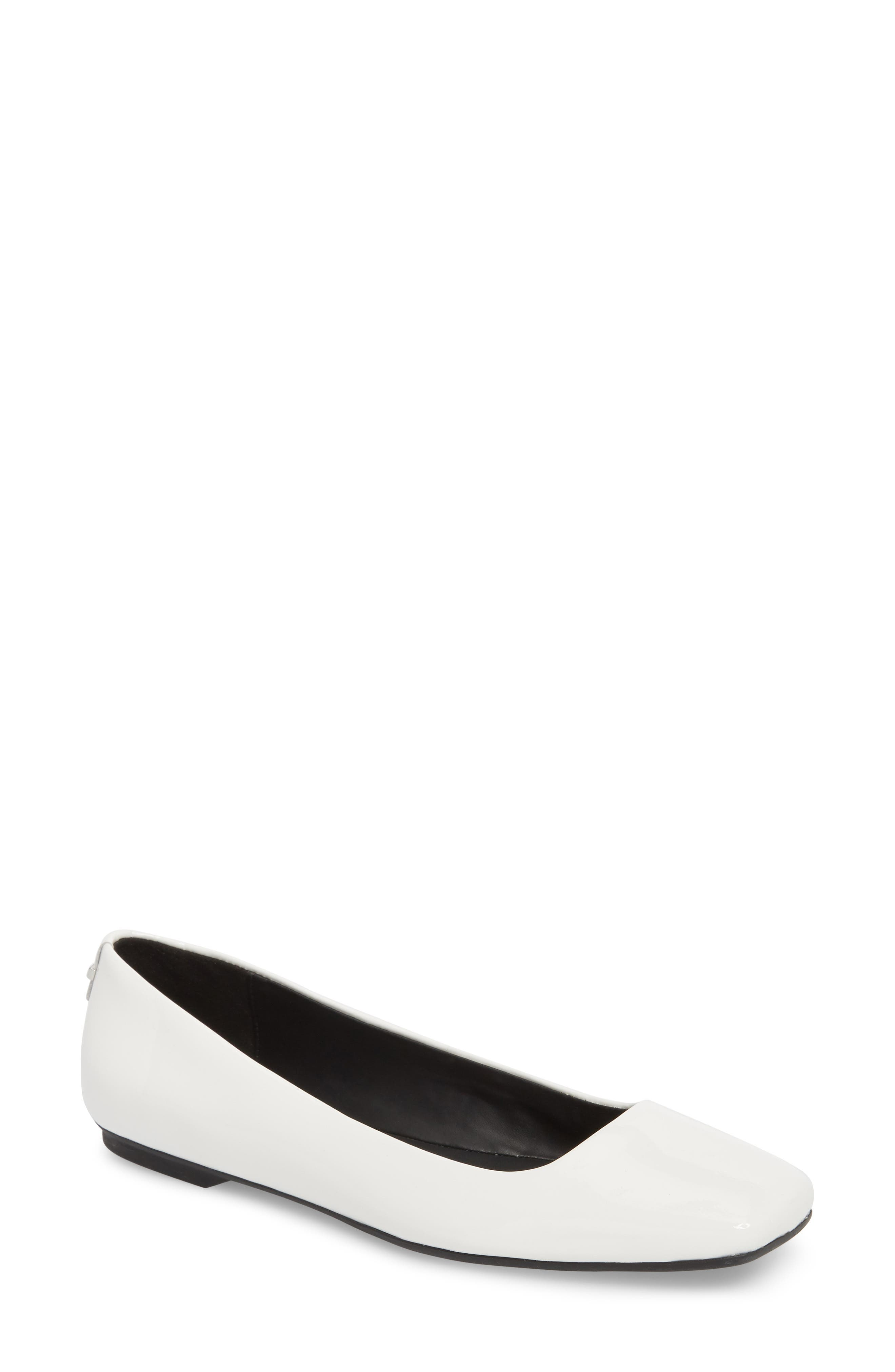 Alternate Image 1 Selected - Calvin Klein Enith Flat (Women)