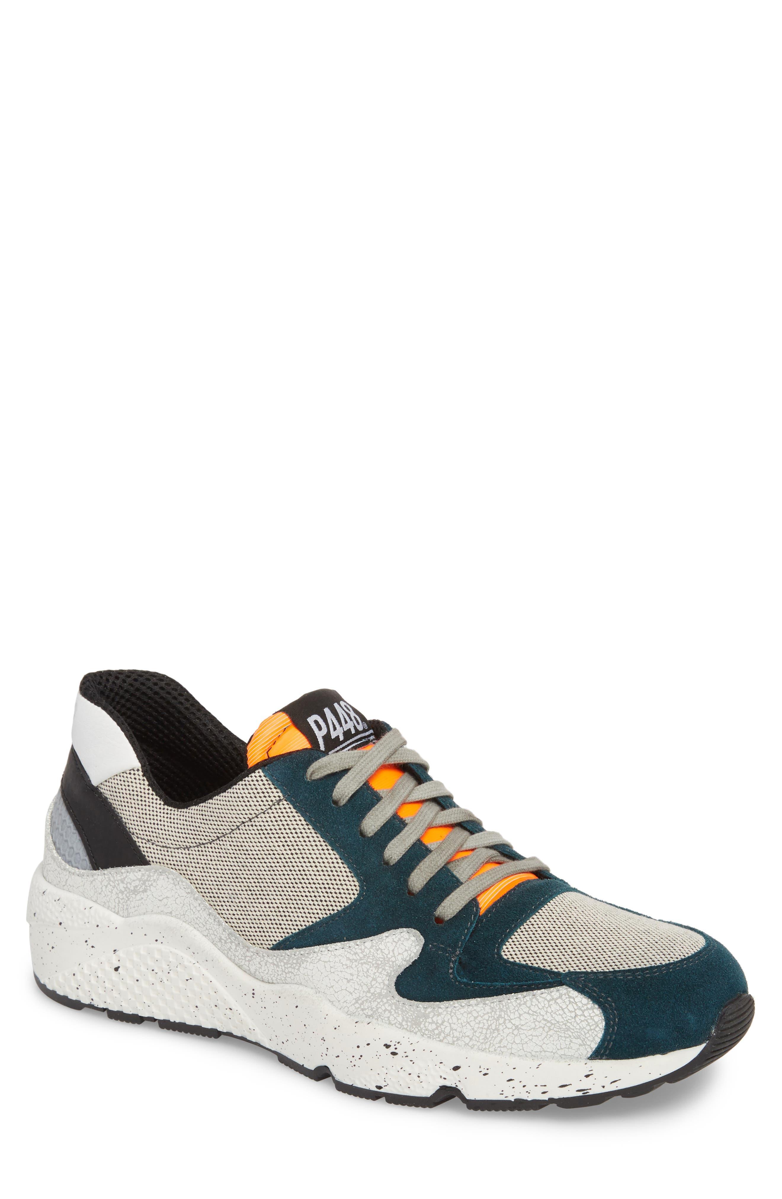 America Low Top Sneaker,                             Main thumbnail 1, color,                             White