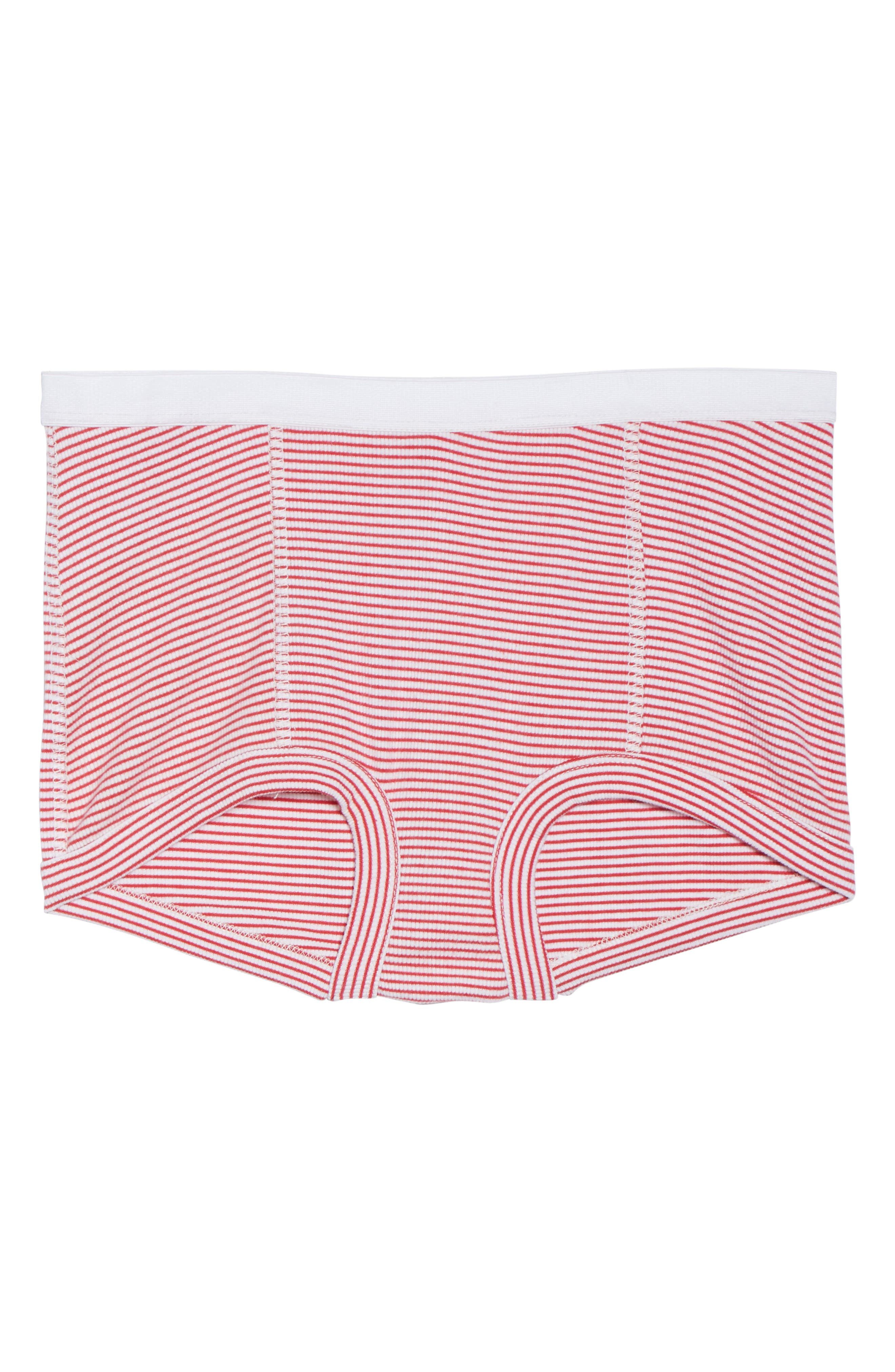 Peony Shorts,                             Alternate thumbnail 6, color,                             Red Stripe