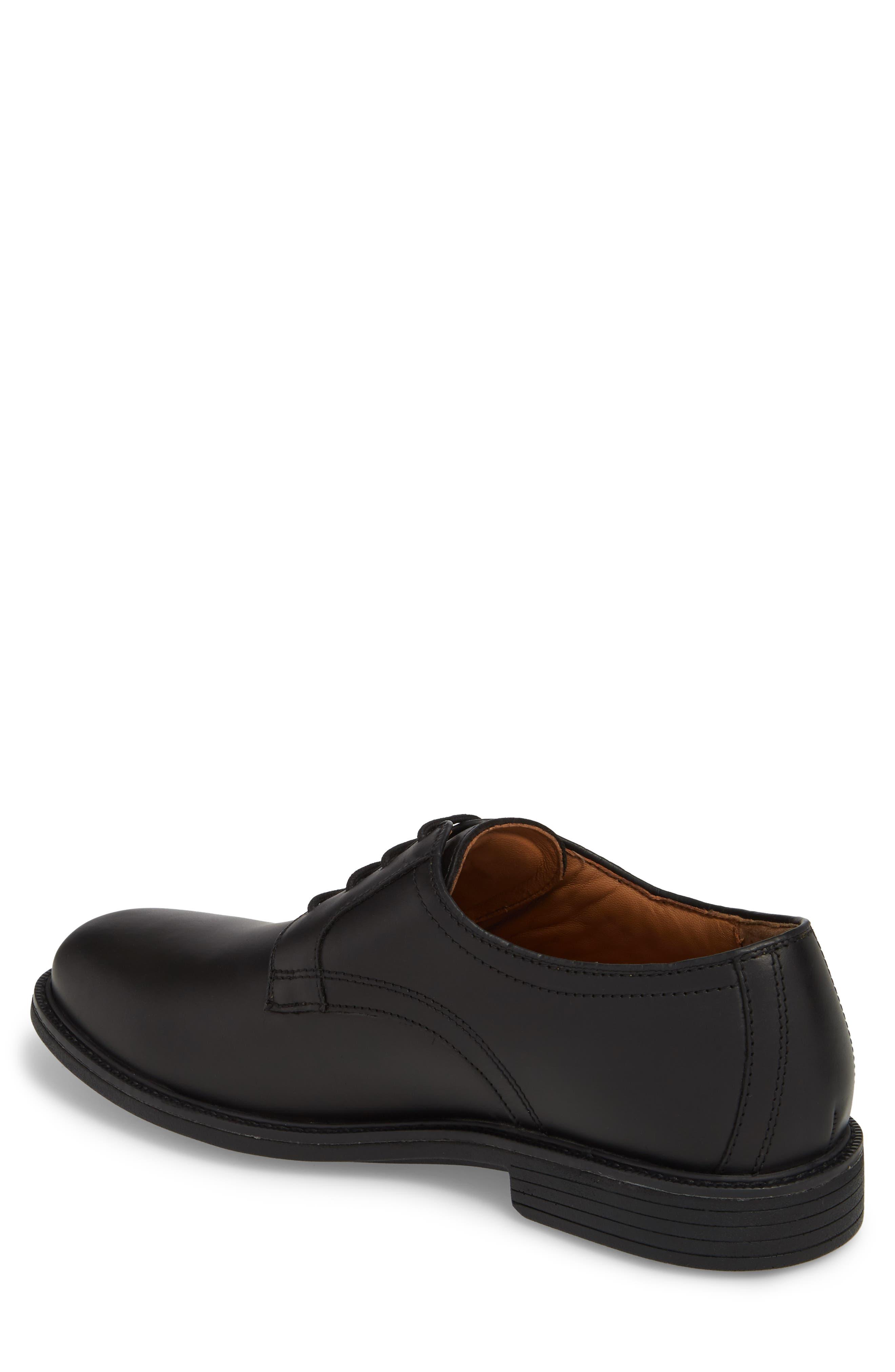 Hollis XC4<sup>®</sup> Plain Toe Derby,                             Alternate thumbnail 2, color,                             Black Nubuck