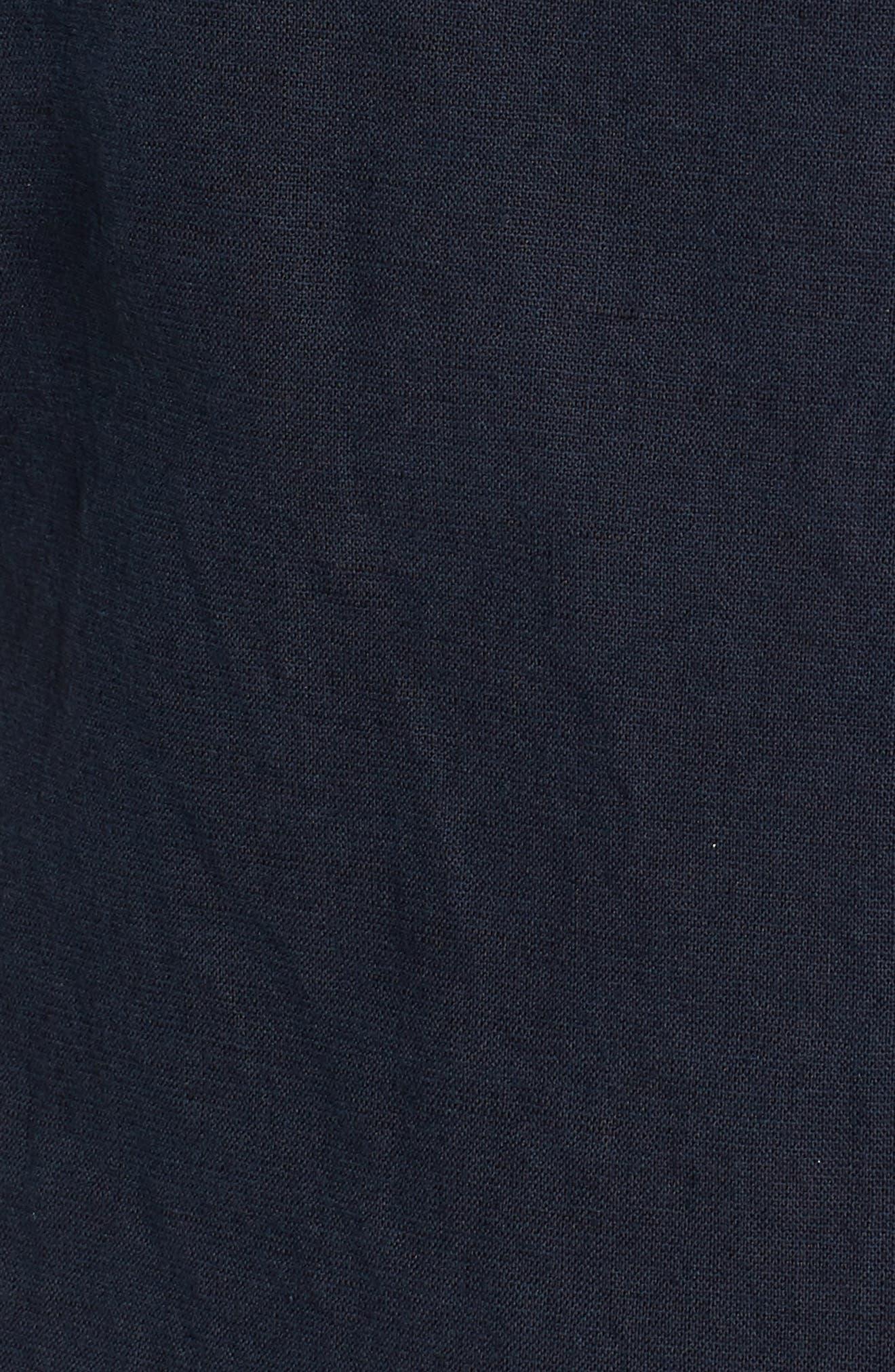 Darcy Tie Back Jumpsuit,                             Alternate thumbnail 6, color,                             Sulfur Dark Cove