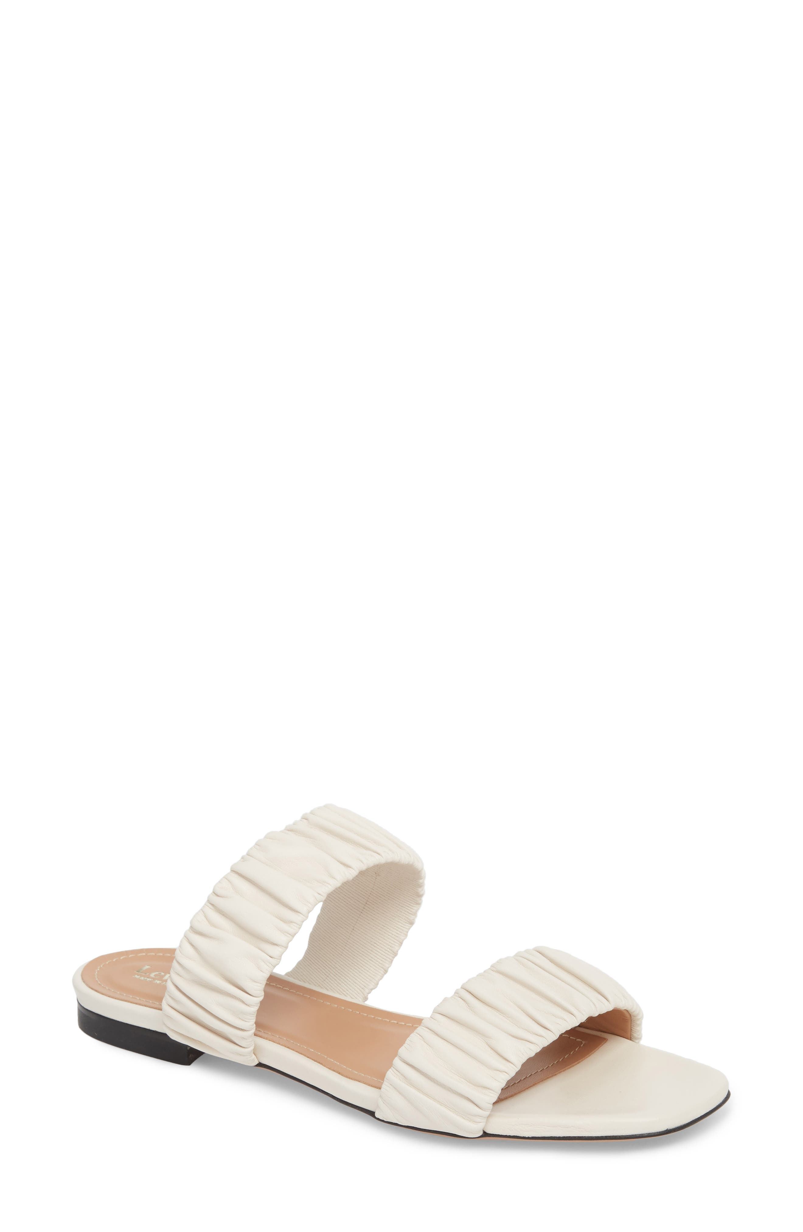 Lewit Elena Ruched Slide Sandal (Women)