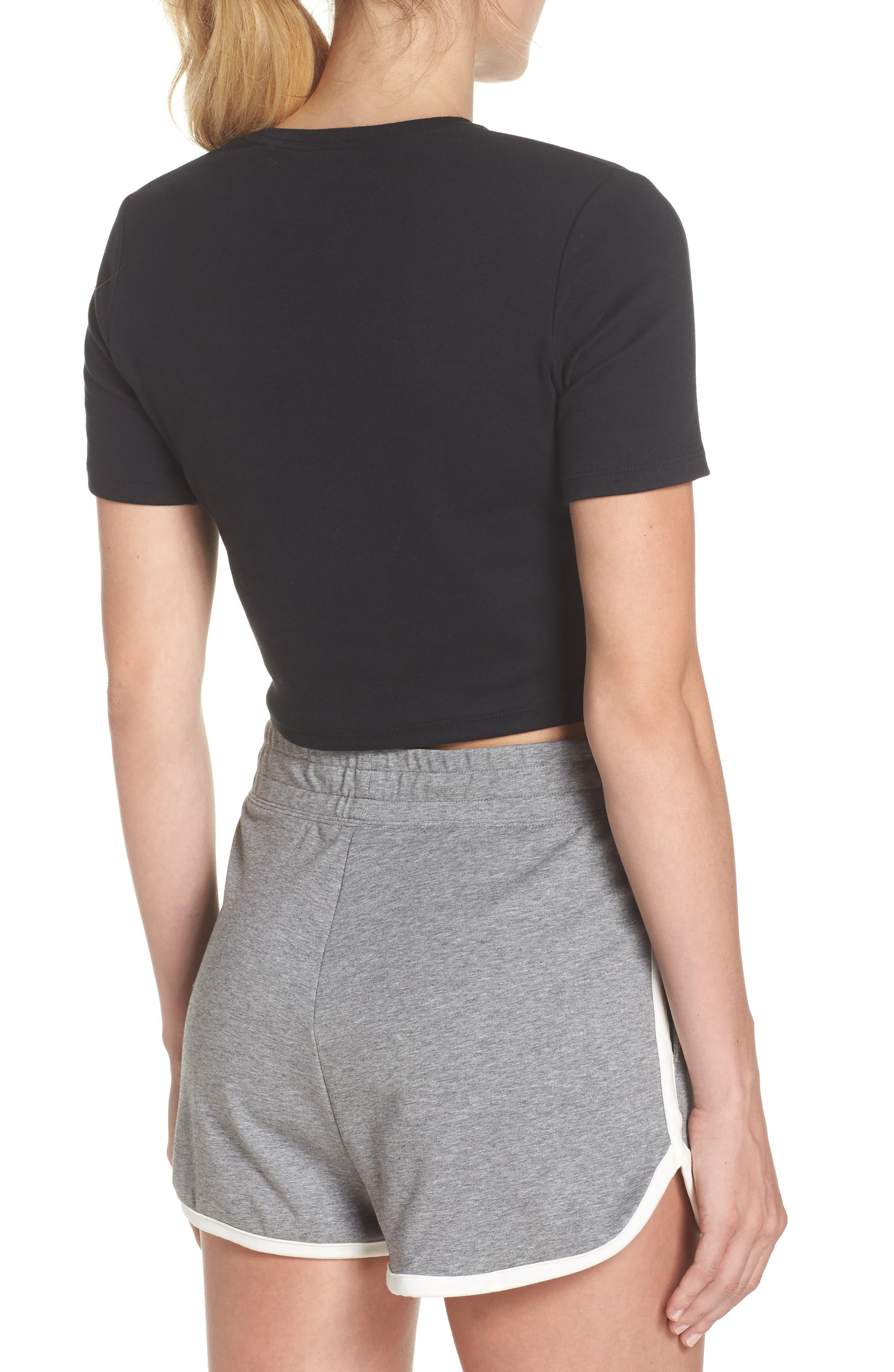 Alternate Image 2  - Nike Sportswear Baby Air Crop Tee