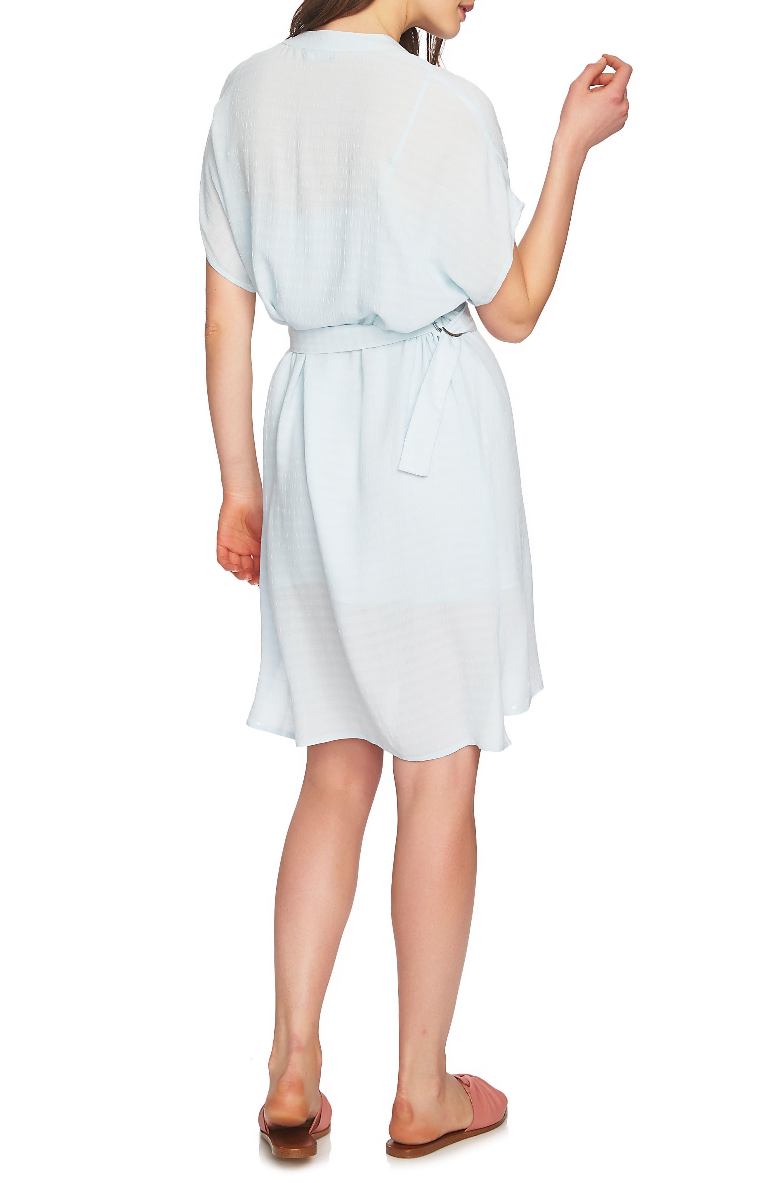 Belted Shirtdress,                             Alternate thumbnail 2, color,                             Harbor Light