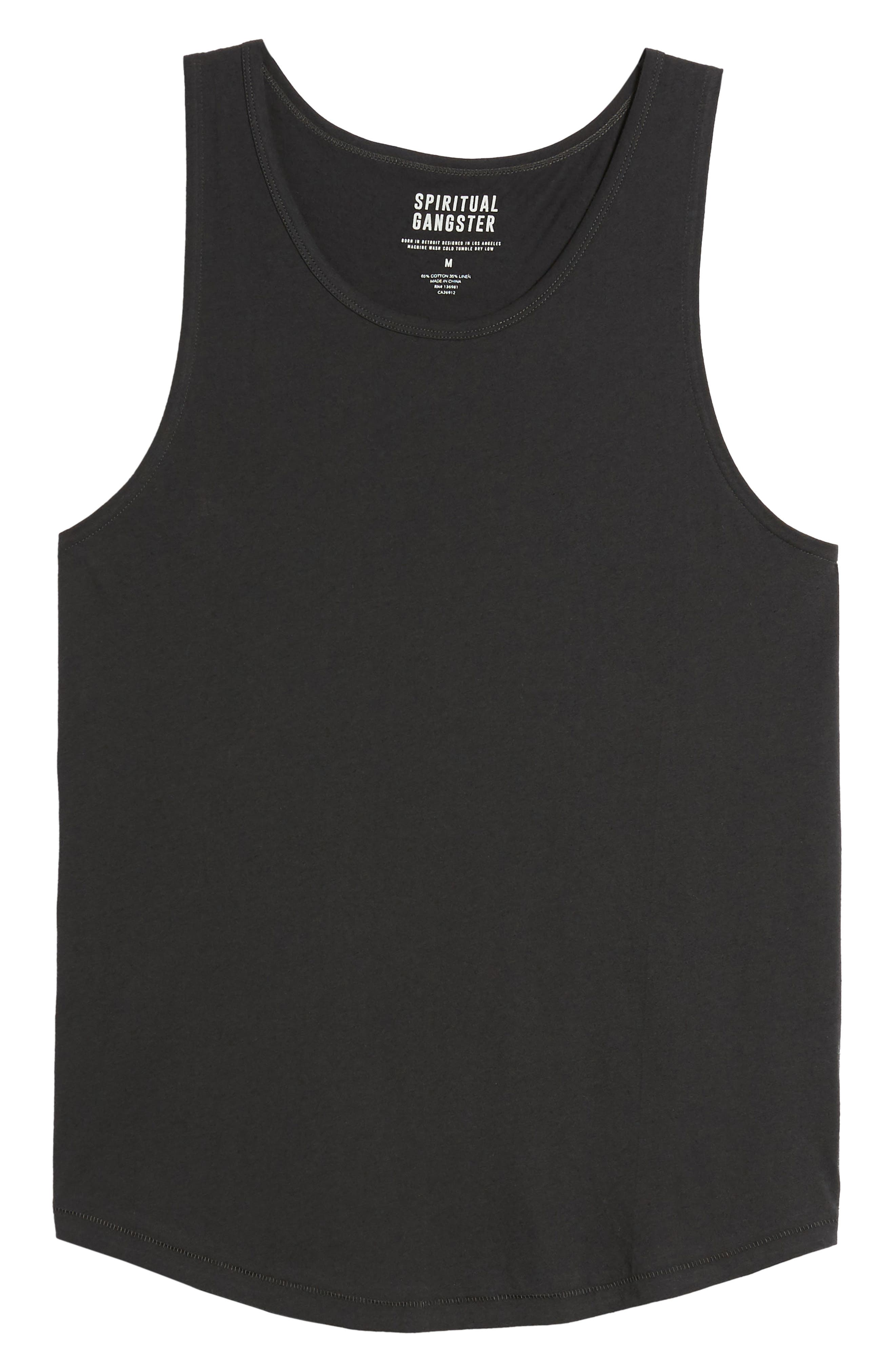 Wave Surf Tank,                             Alternate thumbnail 5, color,                             Vintage Black