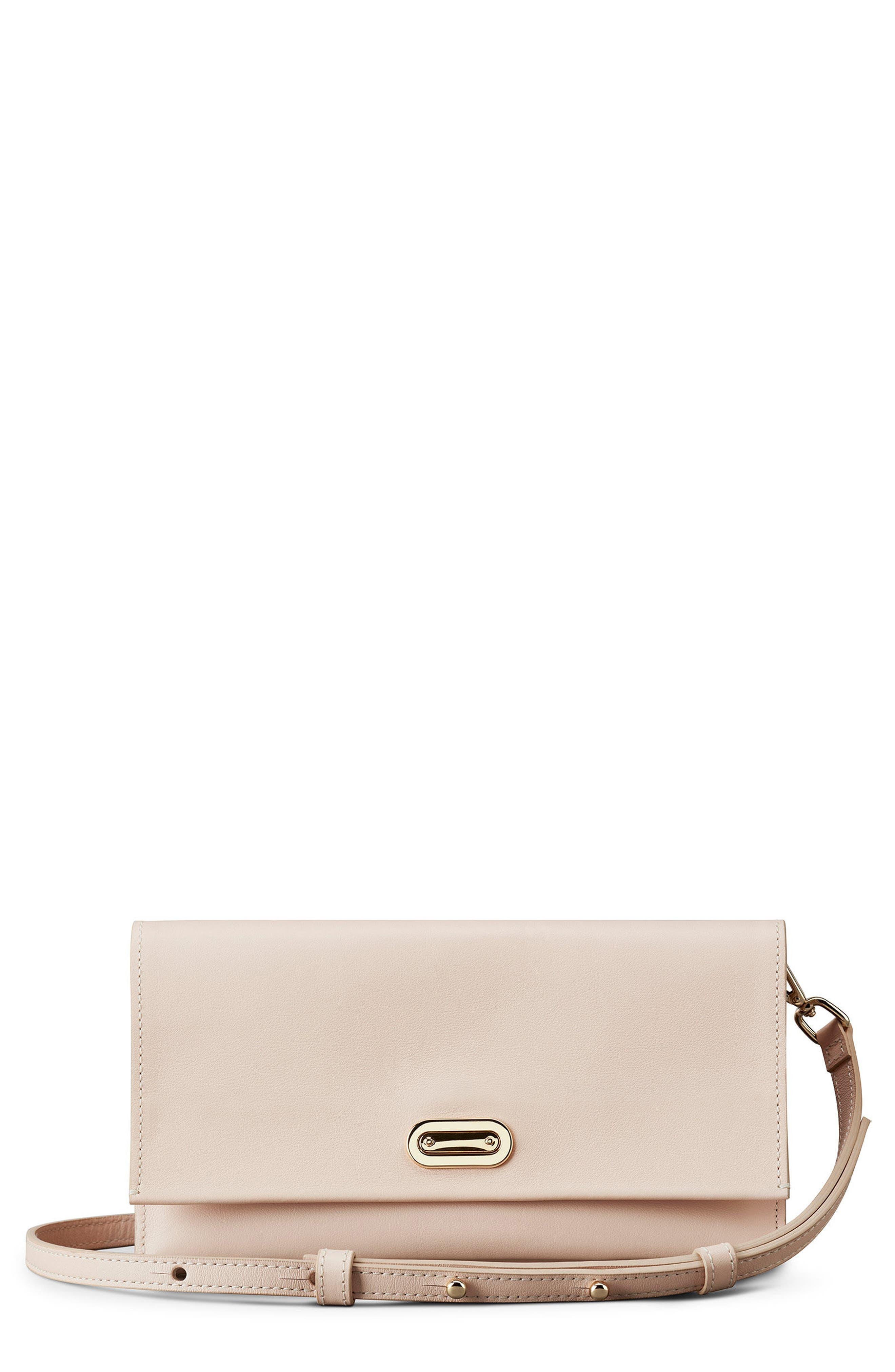 Shinola Birdy Leather Crossbody Bag