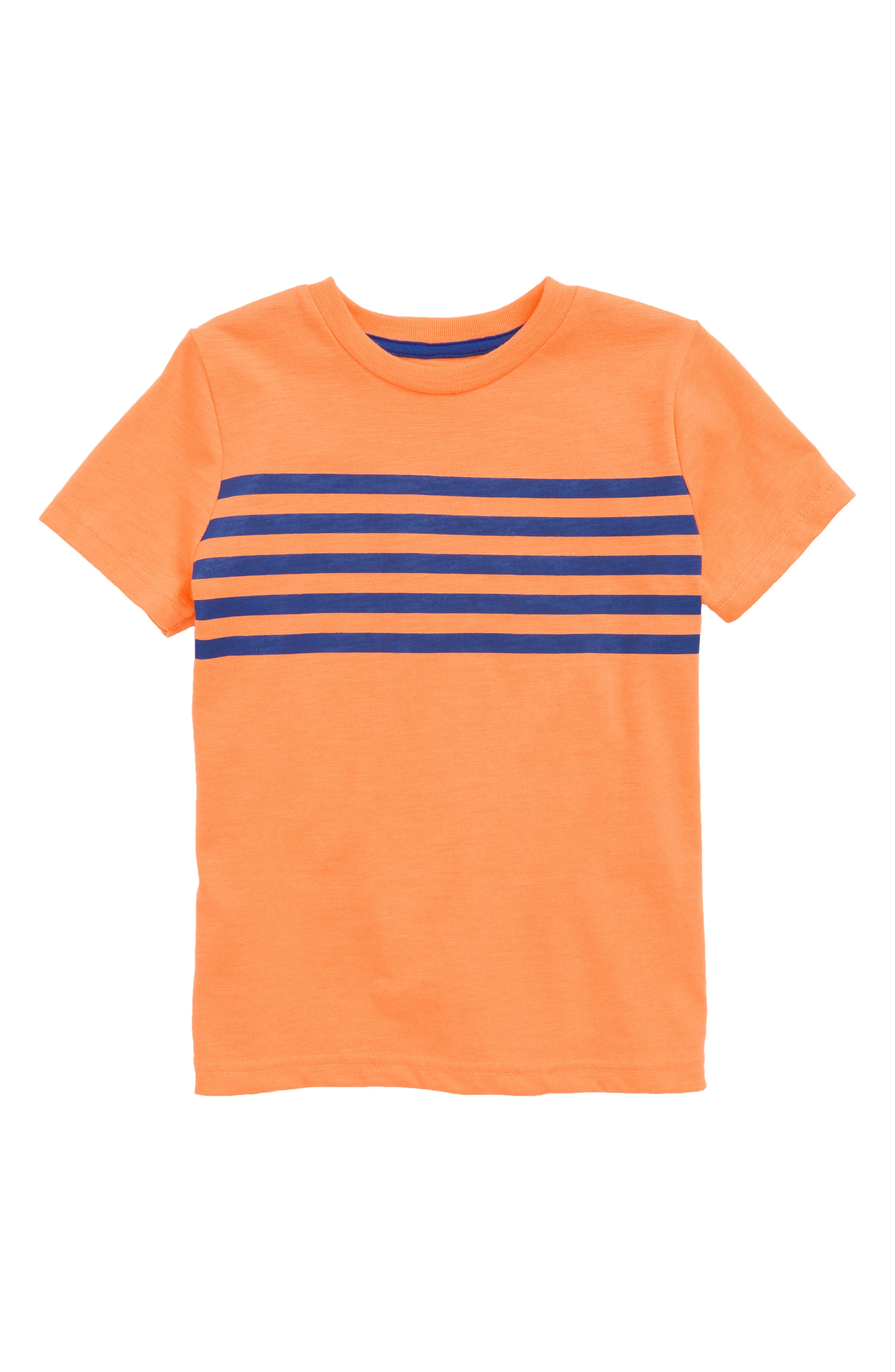 Washed T-Shirt,                         Main,                         color, Klaxon Orange