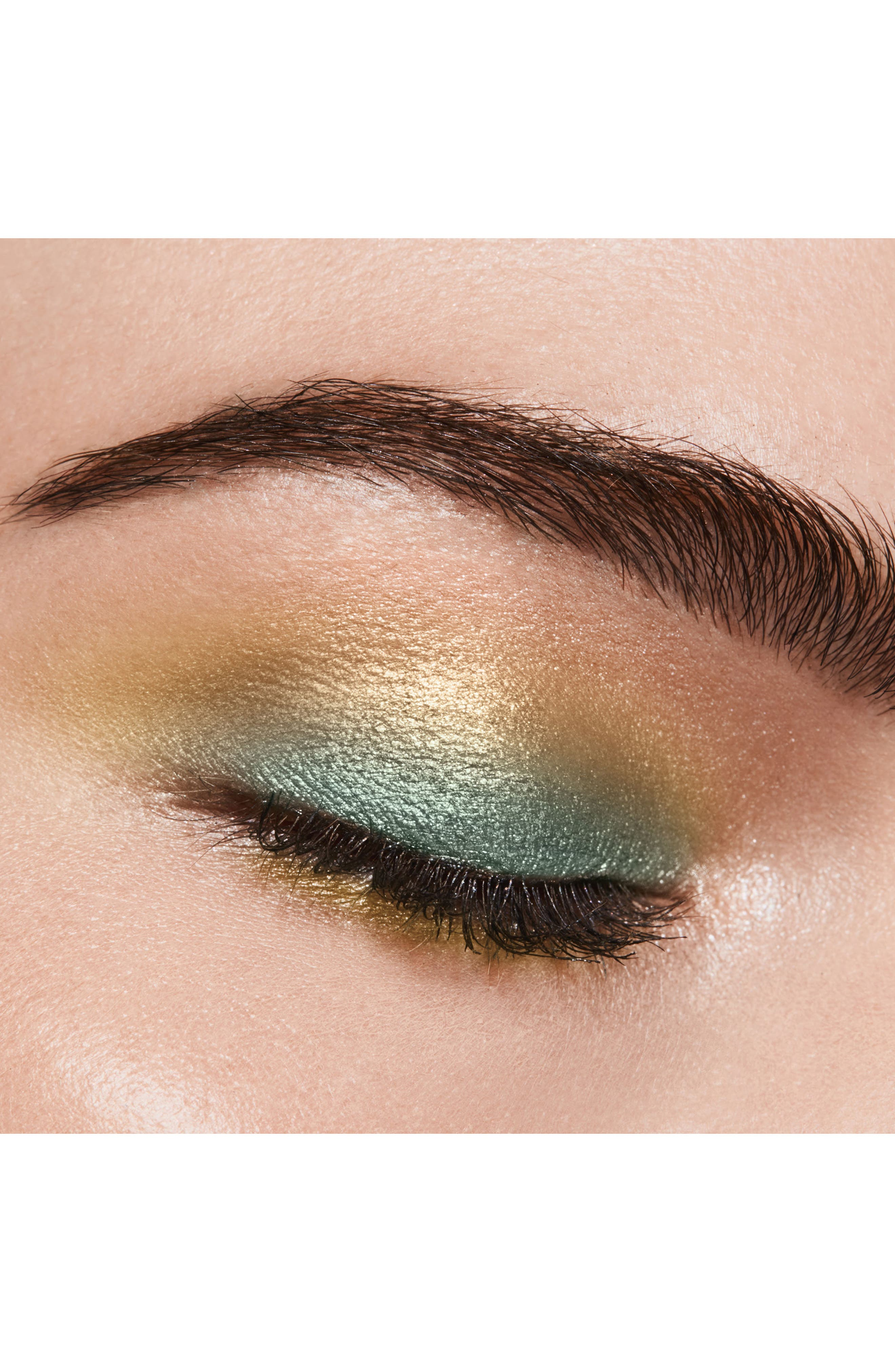 Cream & Powder Eye Color Duo,                             Alternate thumbnail 4, color,                             Emerald Isles