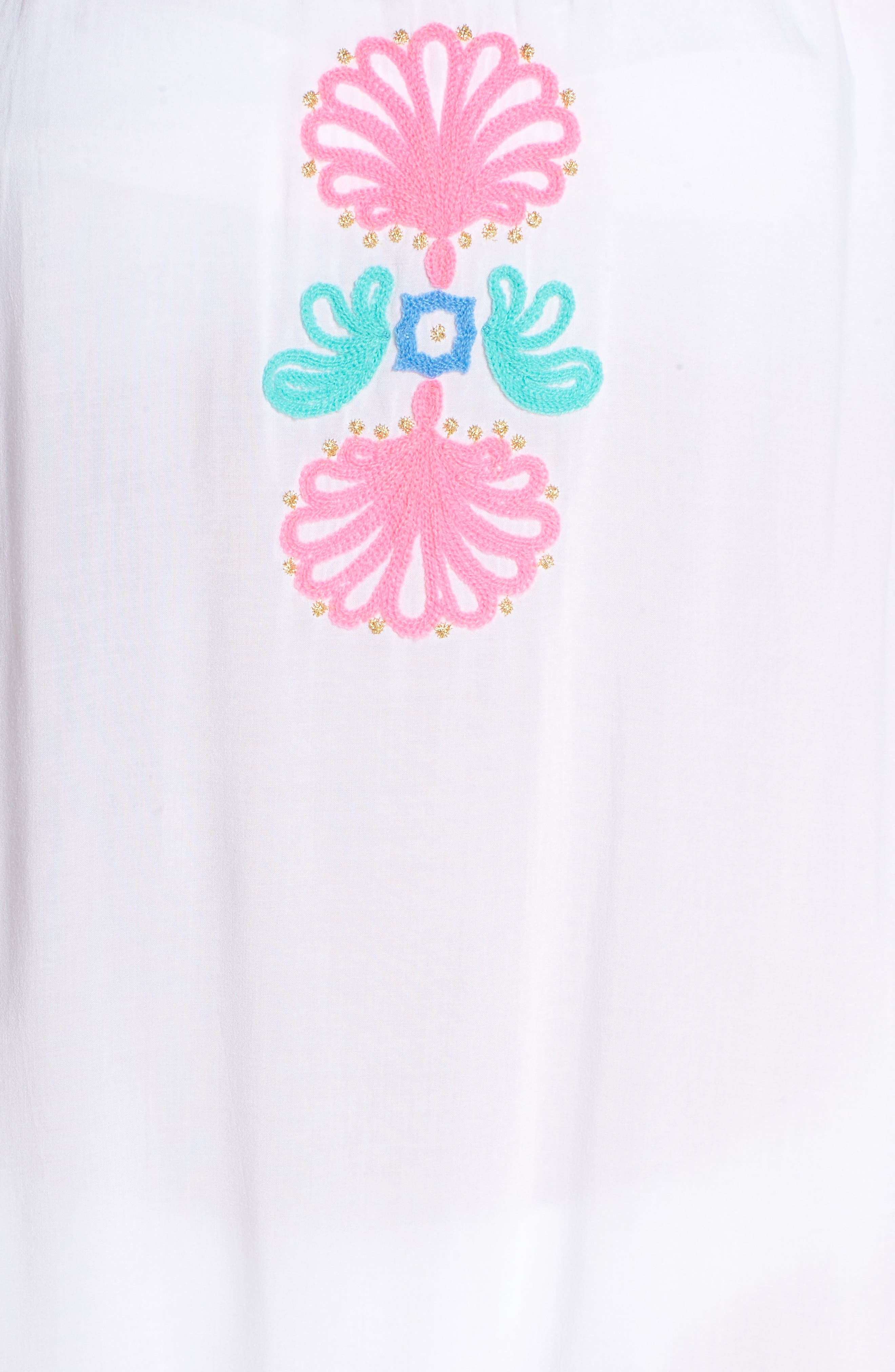 Nemi Cover-Up,                             Alternate thumbnail 5, color,                             Resort White