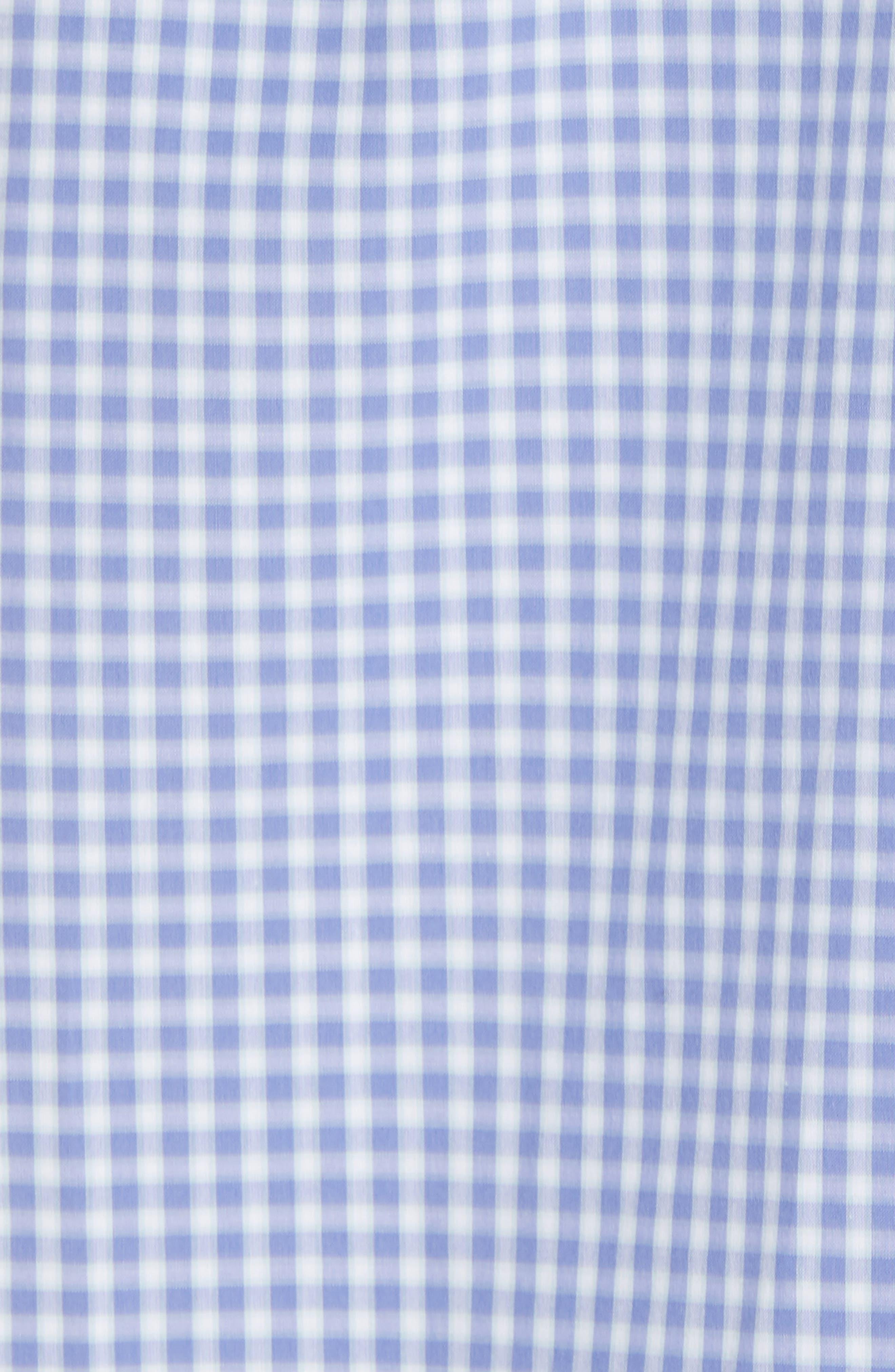 Winston Regular Fit Sport Shirt,                             Alternate thumbnail 5, color,                             Ocean