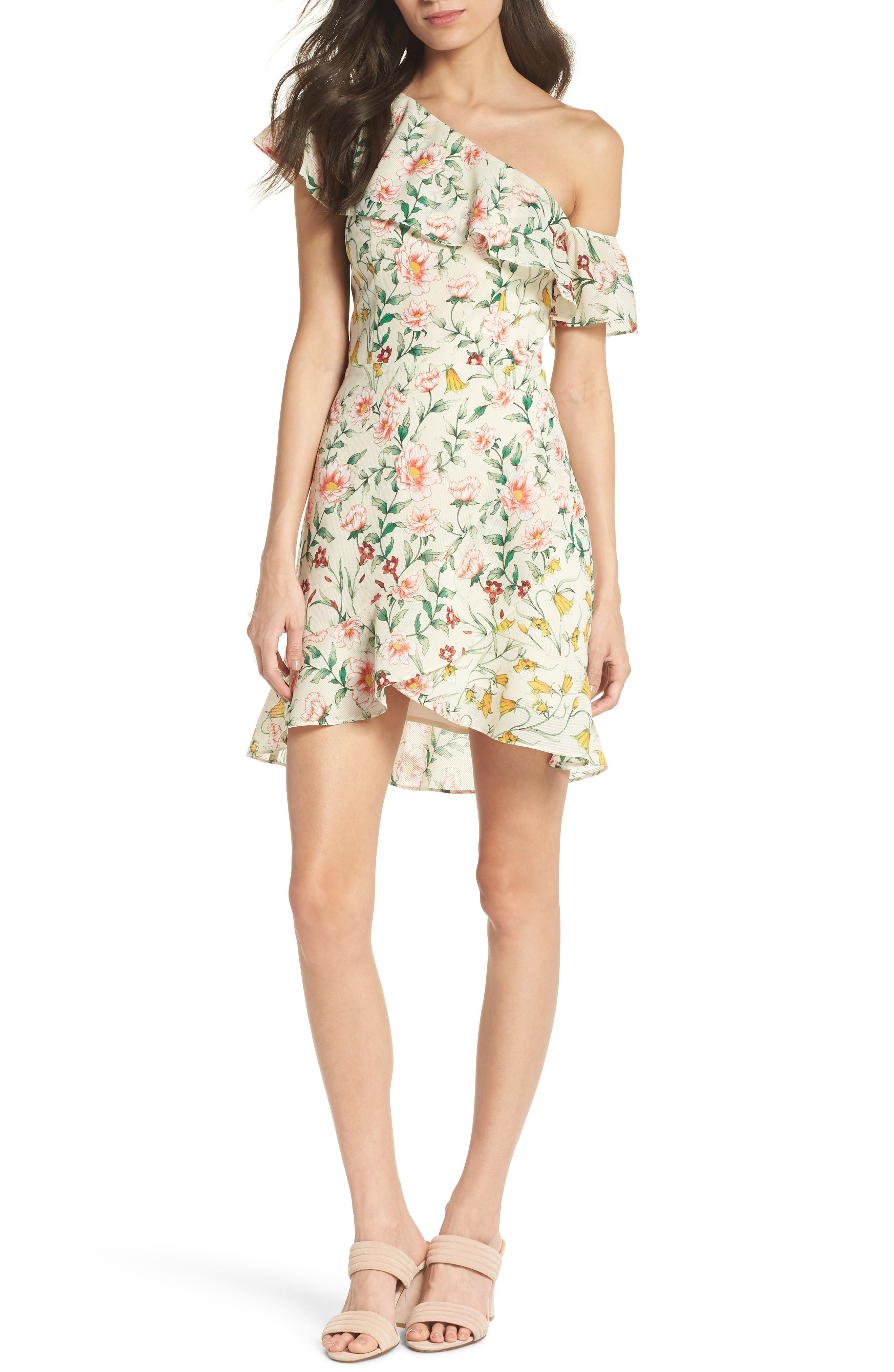 Zinque Afternoons One Shoulder Dress by Ali & Jay