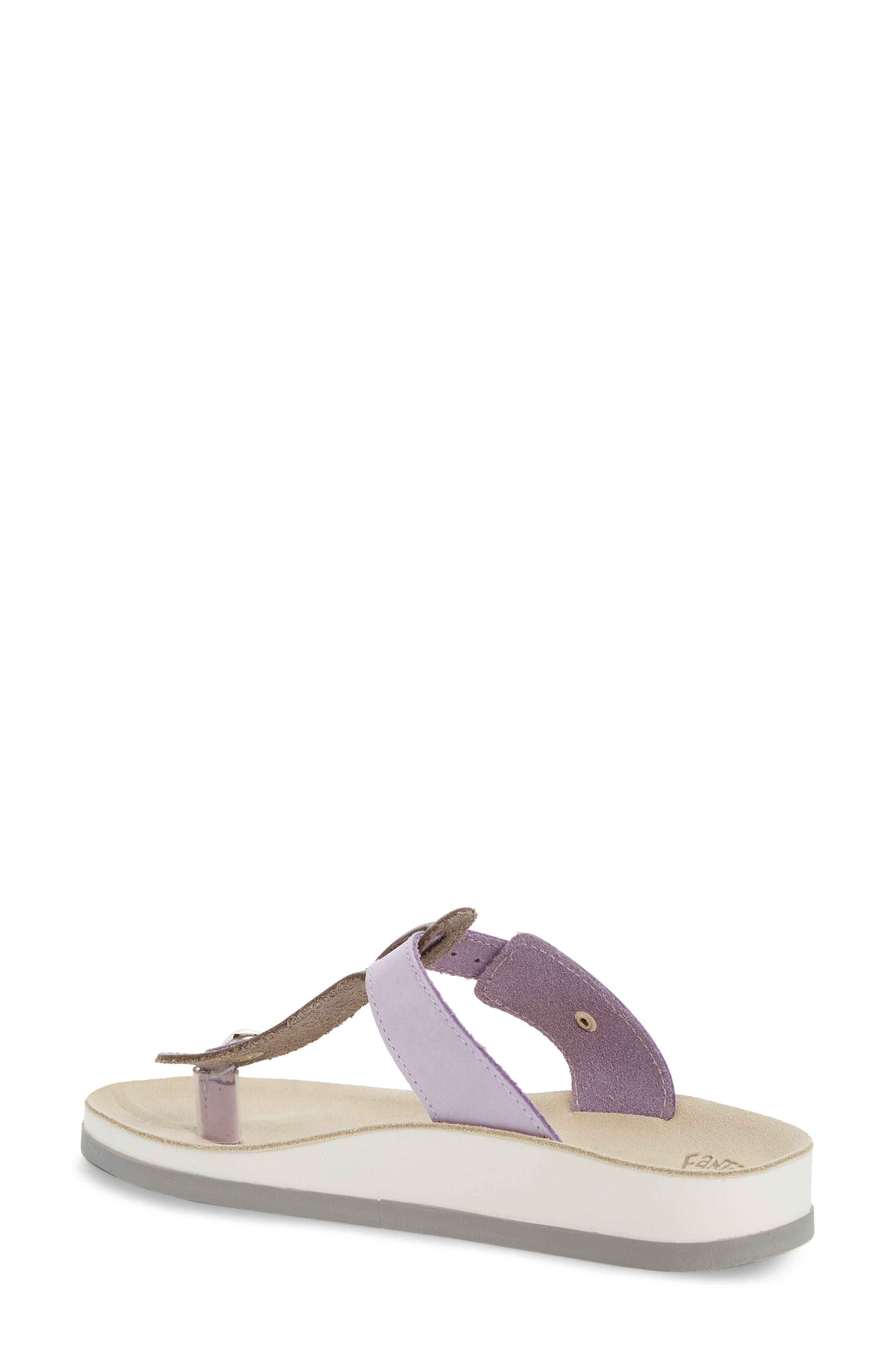 Viola Sandal,                             Alternate thumbnail 2, color,                             Lila Grey Leather