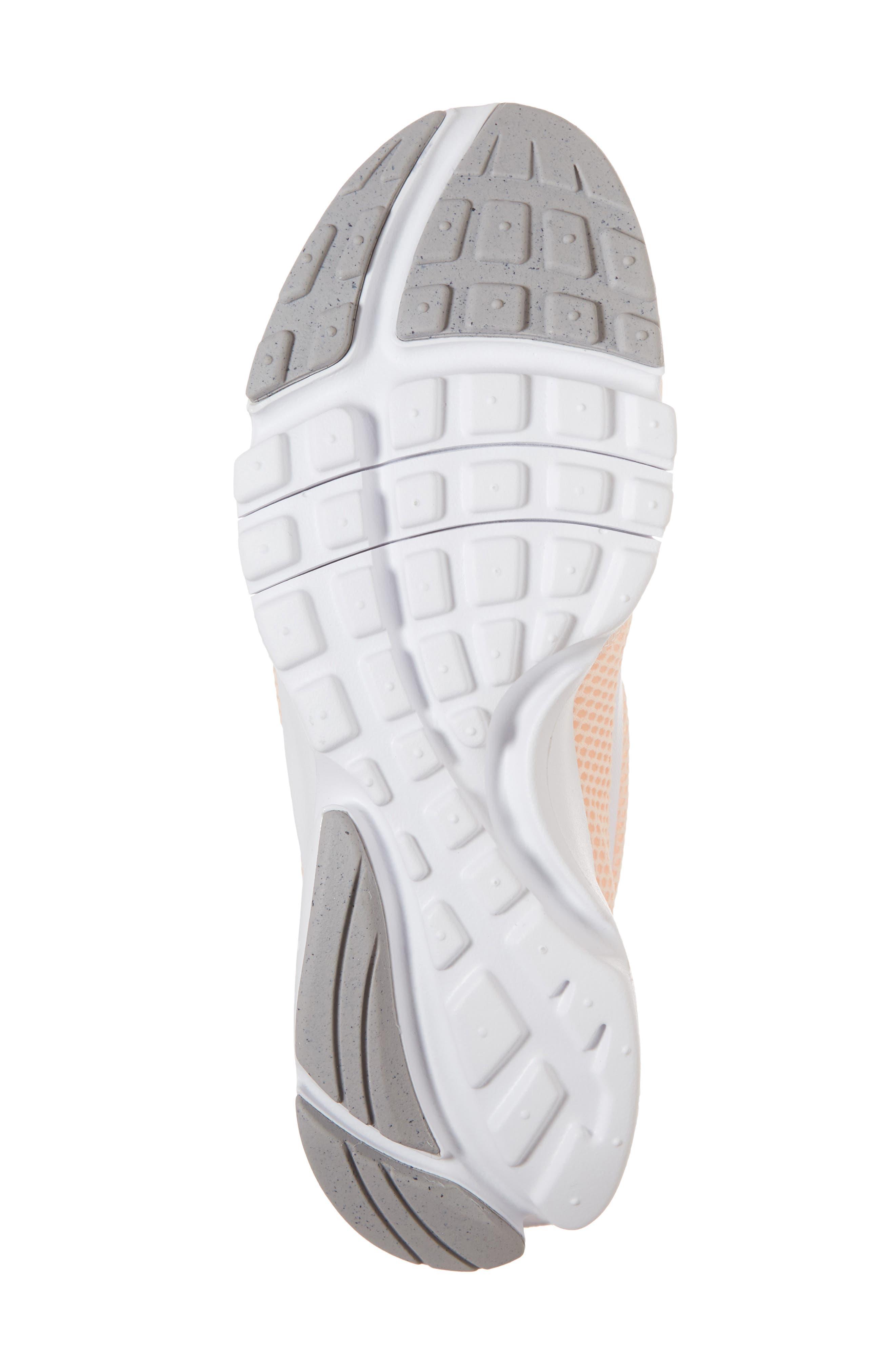 Presto Fly Sneaker,                             Alternate thumbnail 7, color,                             Crimson Tint/ White/ Grey