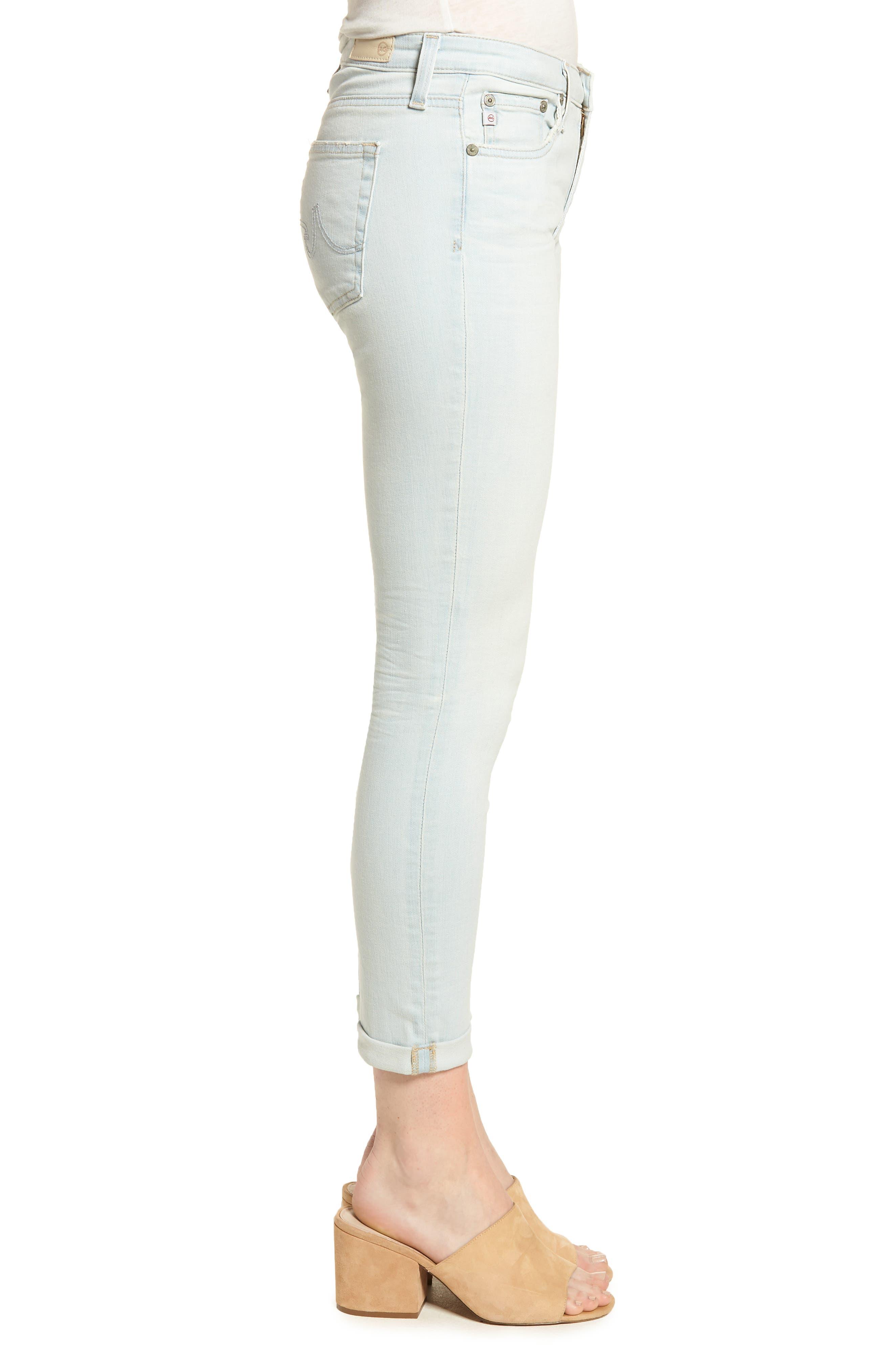 The Prima Roll-Up Cigarette Leg Skinny Jeans,                             Alternate thumbnail 3, color,                             26 Years-Sandcastles