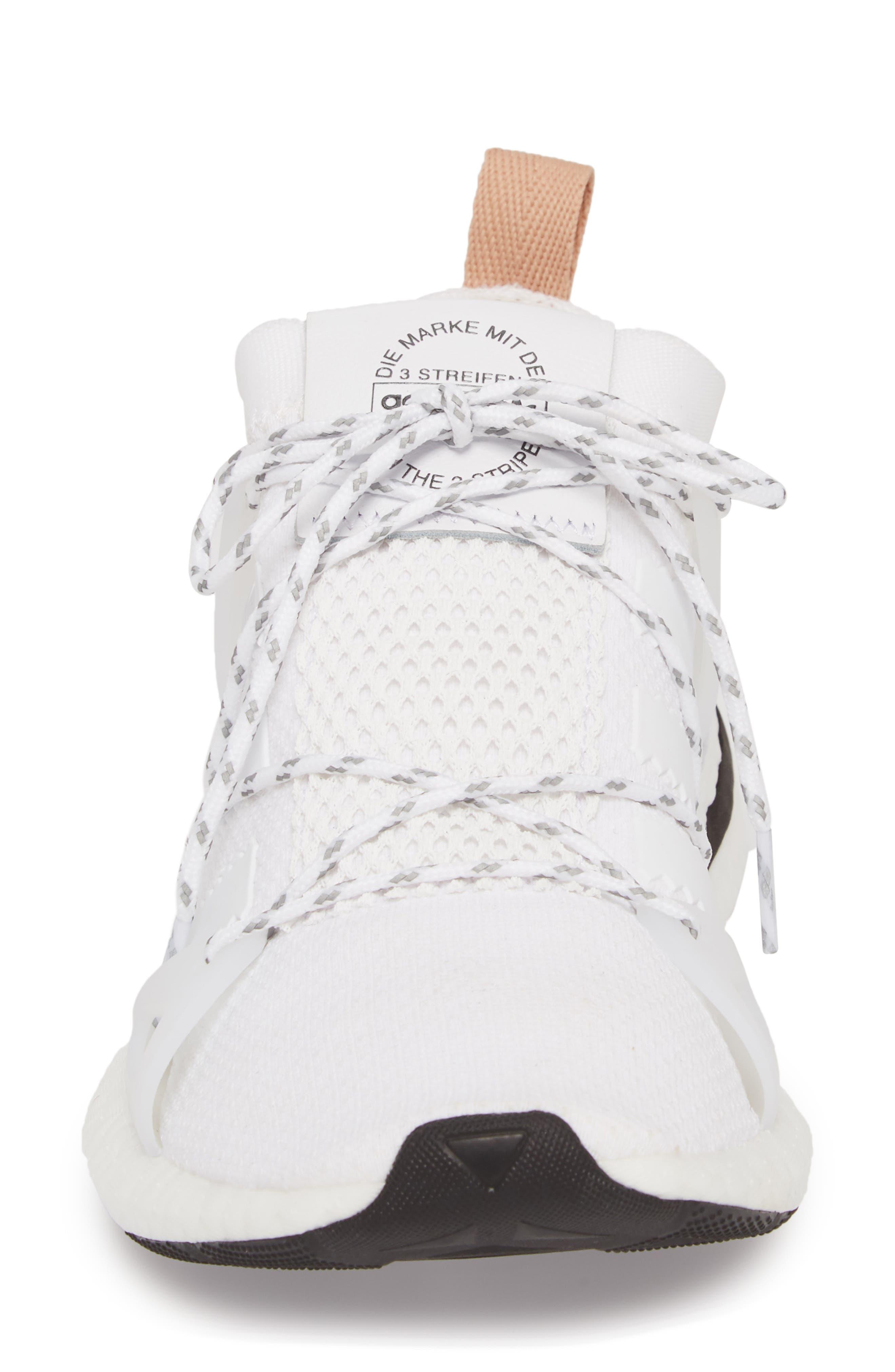 Arkyn Sneaker,                             Alternate thumbnail 4, color,                             White/ White/ Ash Pearl