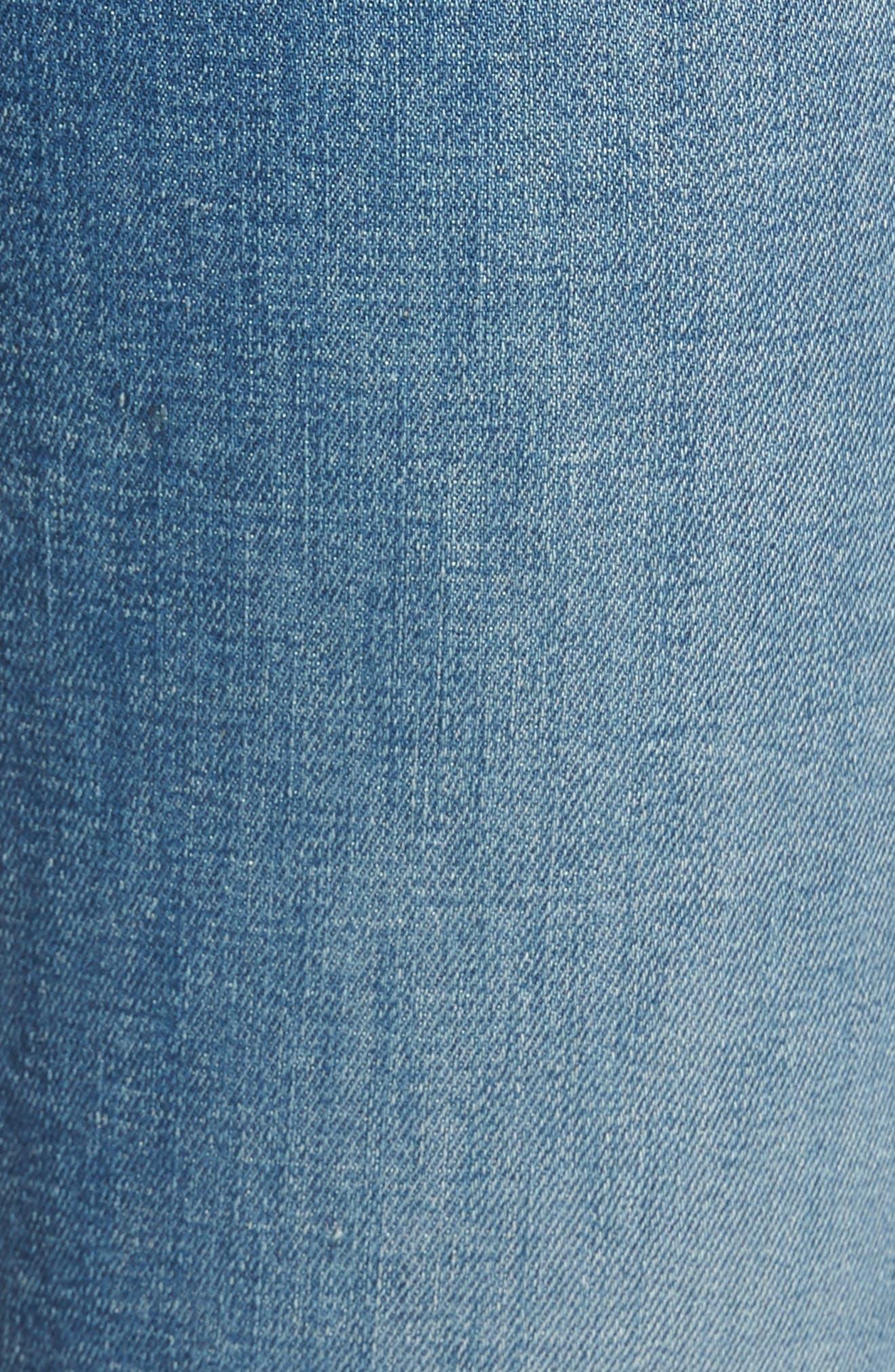 Dylan Straight Leg Jeans,                             Alternate thumbnail 6, color,                             Heritage Art Walk