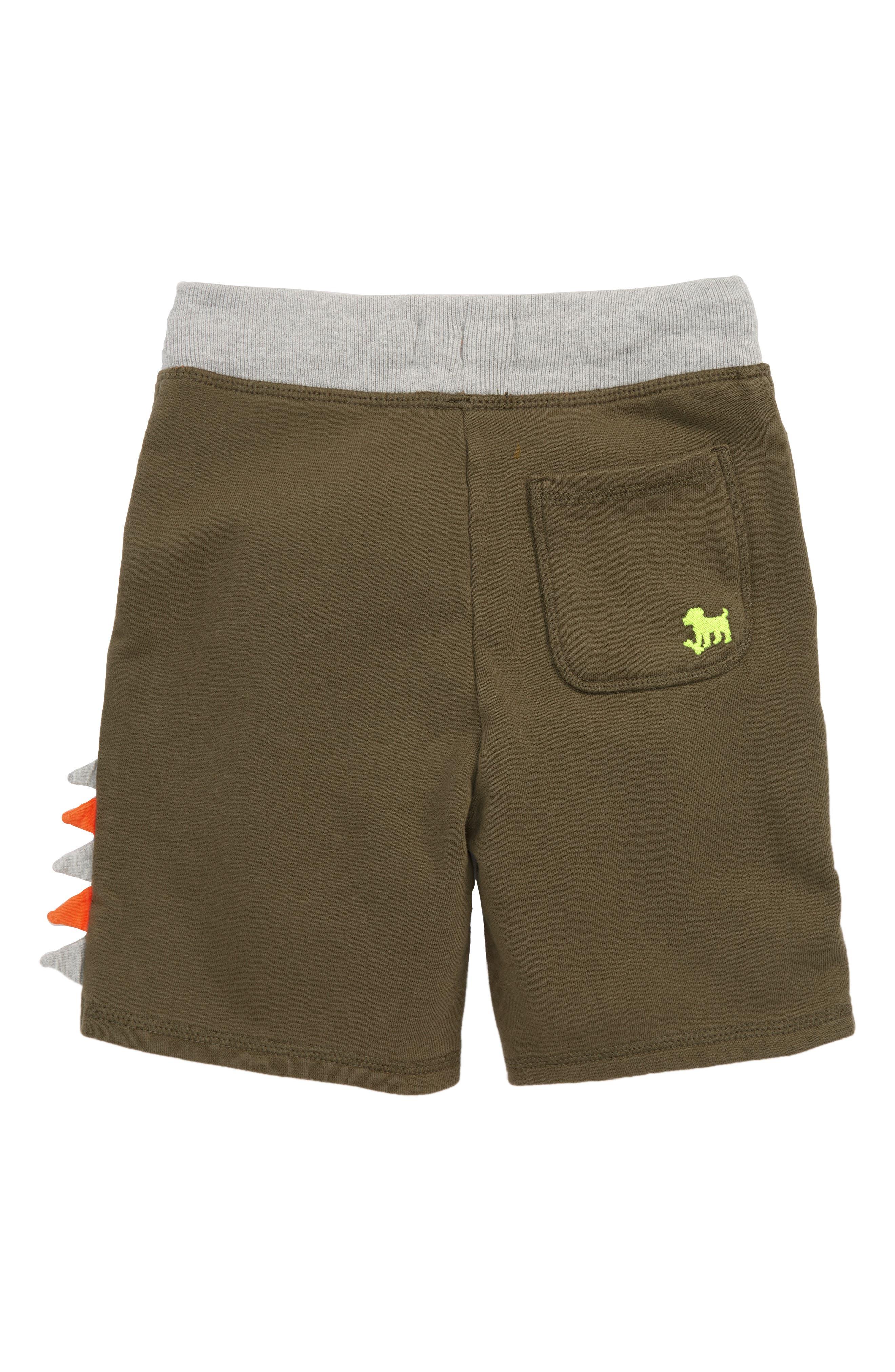 Alternate Image 2  - Mini Boden Iguana Appliqué Sweatshorts (Toddler Boys, Little Boys & Big Boys)