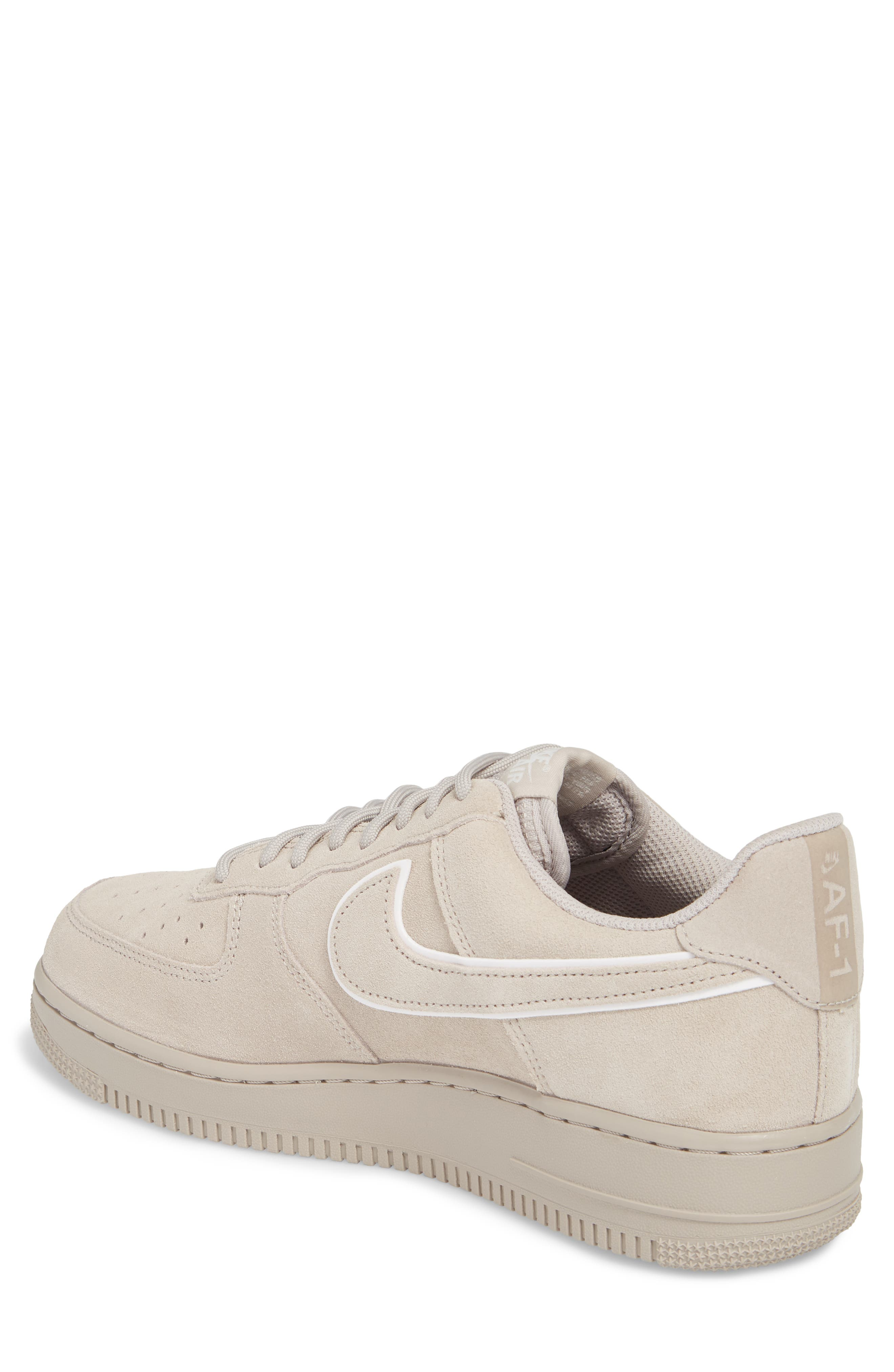 Air Force 1 '07 Low LV8 Sneaker,                             Alternate thumbnail 2, color,                             Moon Particle/ Sepia Stone