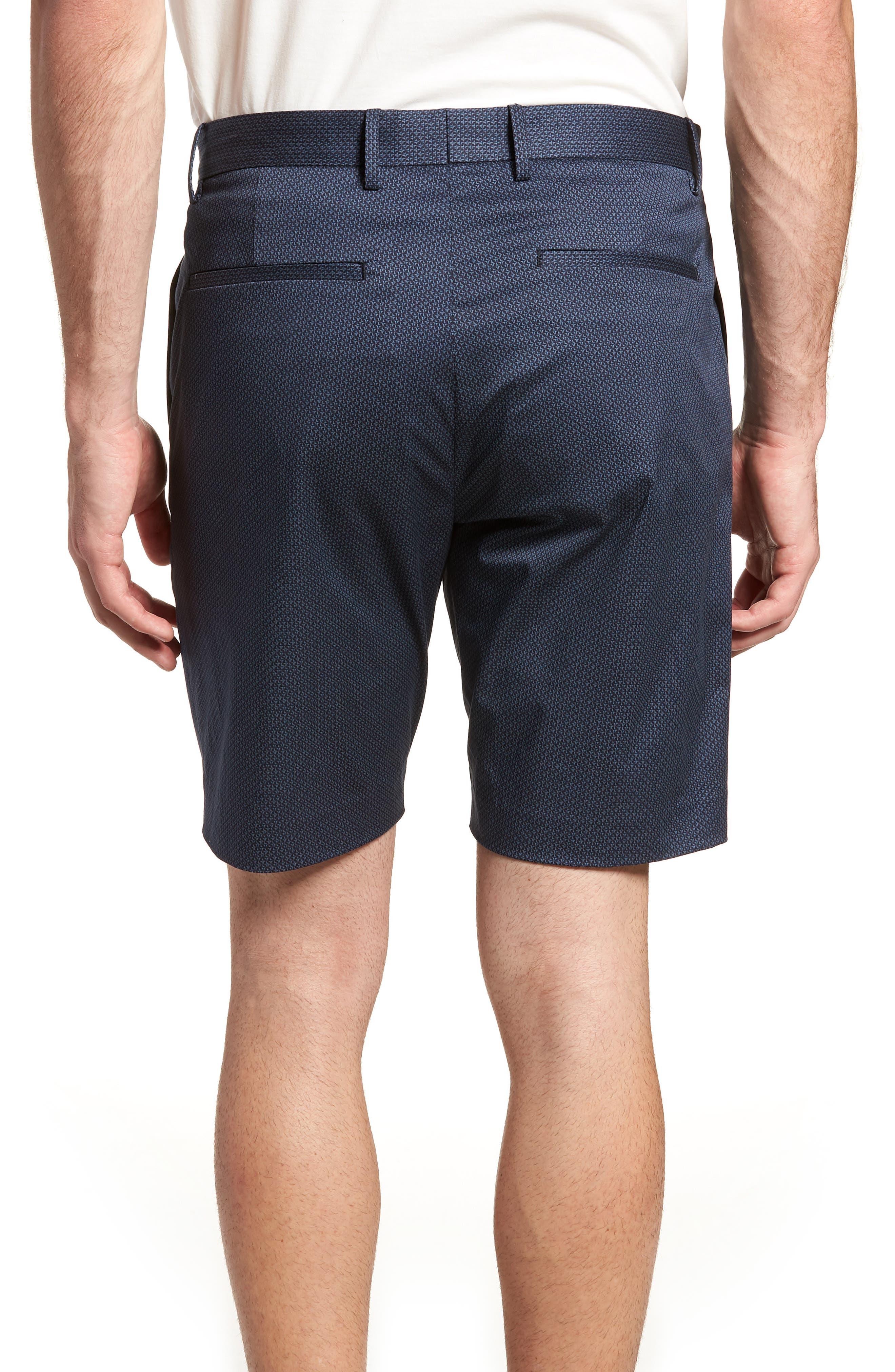 Zaine Stretch Cotton Shorts,                             Alternate thumbnail 2, color,                             Eclipse Multi