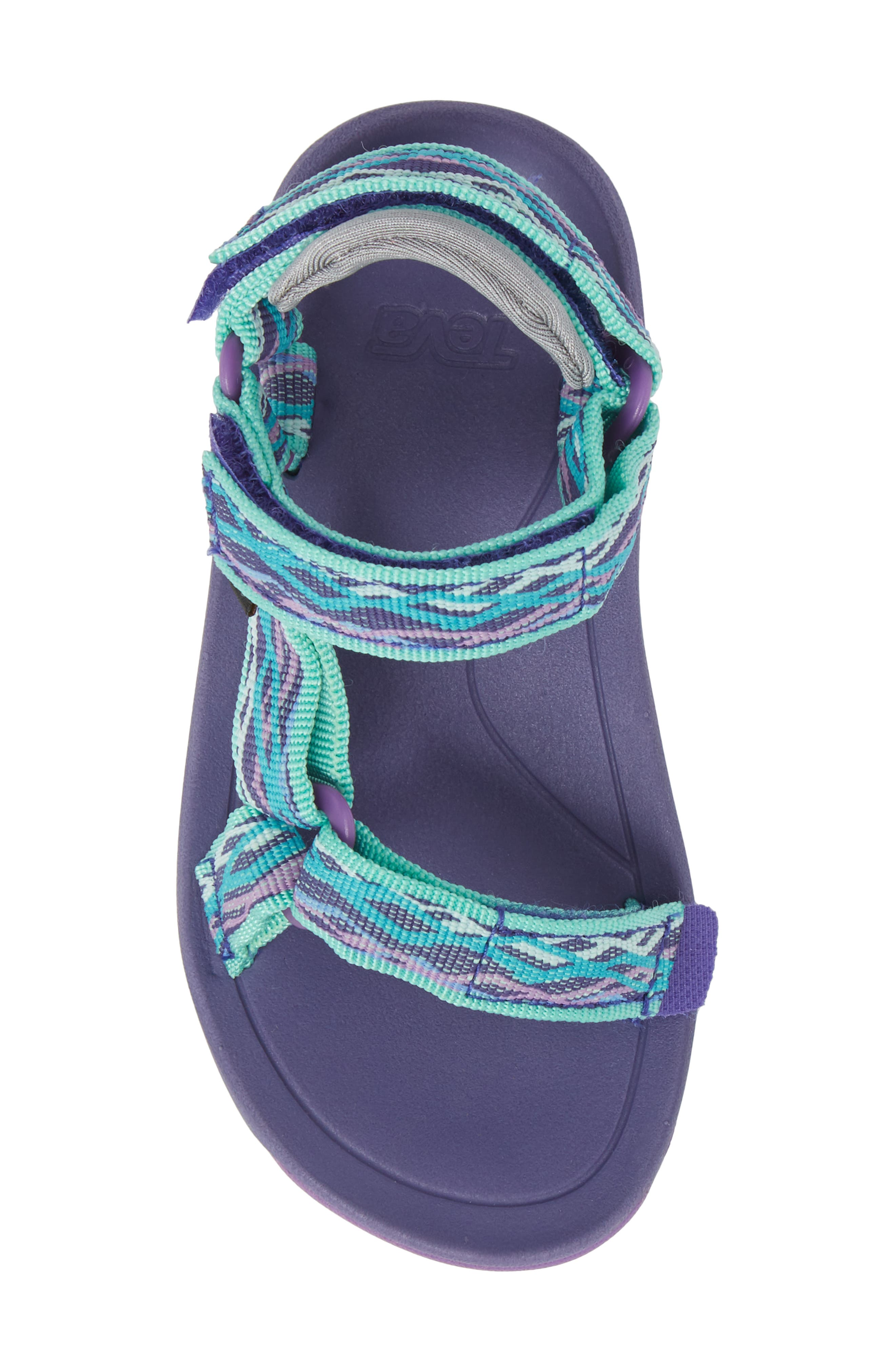 Hurricane XLT 2 Sandal,                             Alternate thumbnail 5, color,                             Delmar Sea Glass / Purple