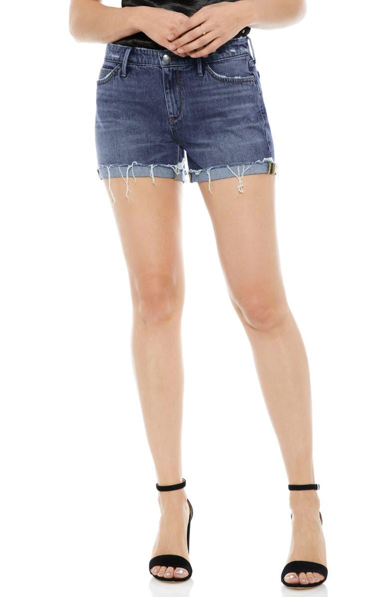 The Drew Cutoff Denim Shorts