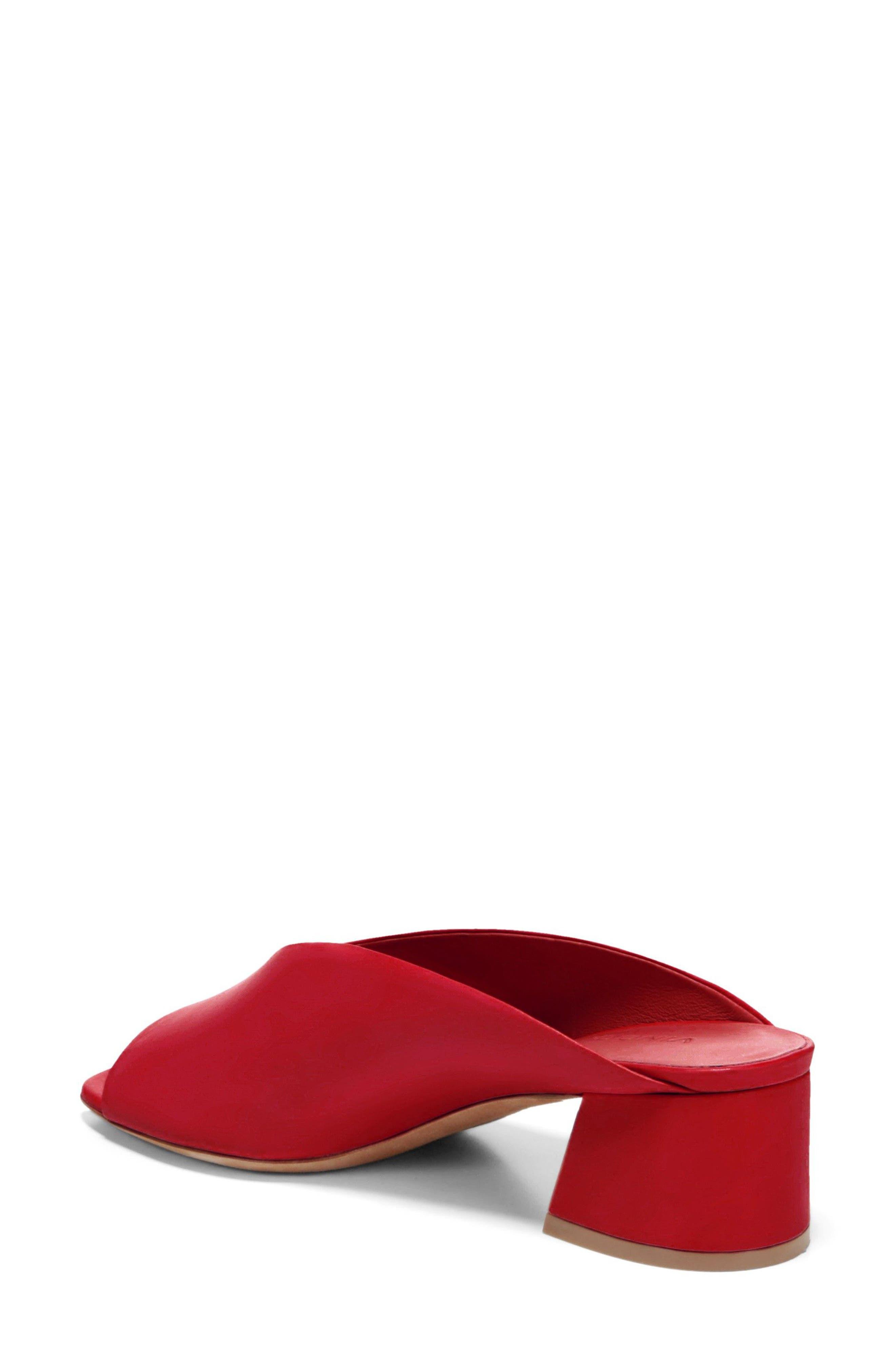 Cachet Sandal,                             Alternate thumbnail 2, color,                             Red