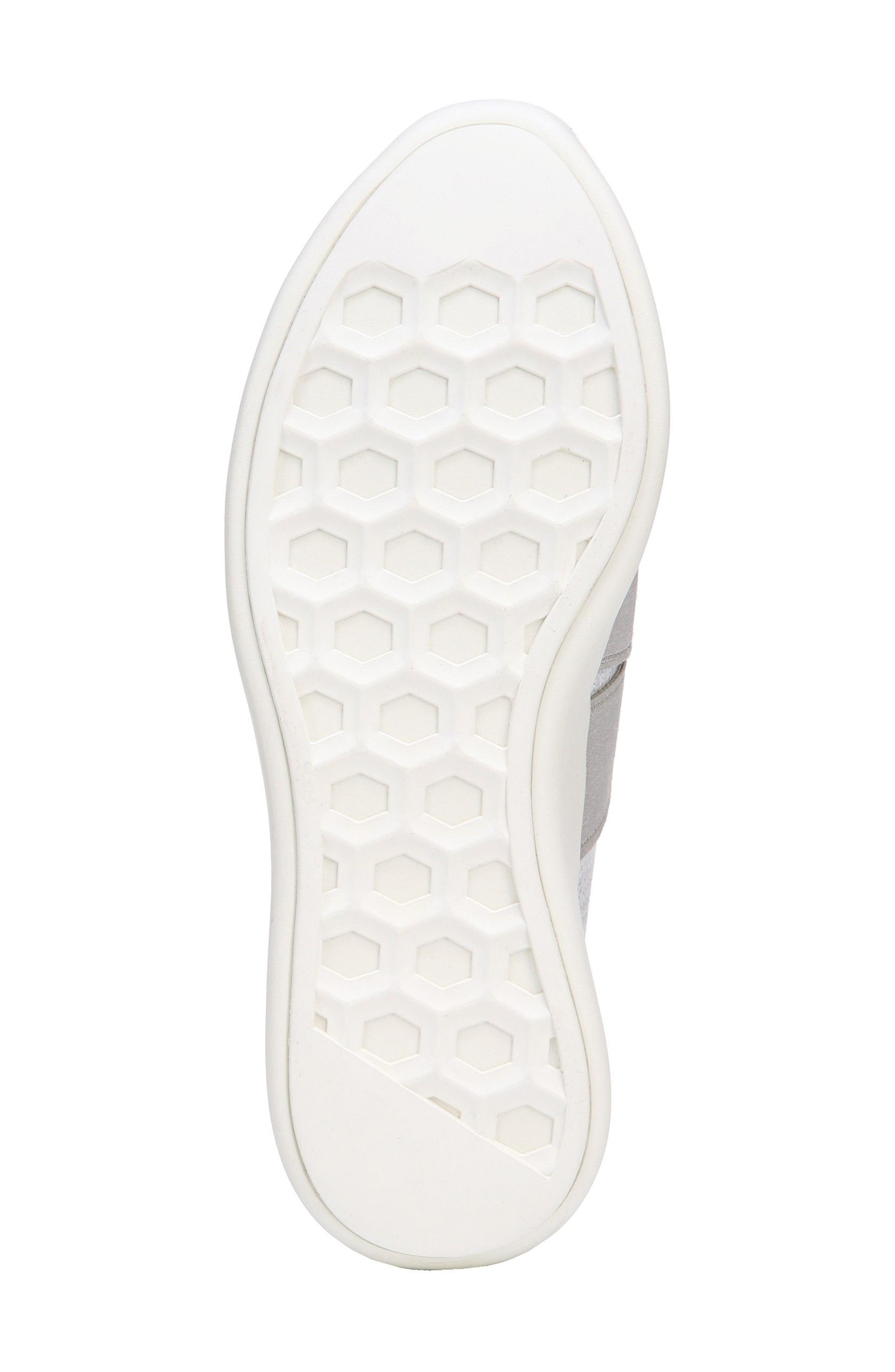 Aston Slip-On Sneaker,                             Alternate thumbnail 5, color,                             White/ Grey Marled Knit