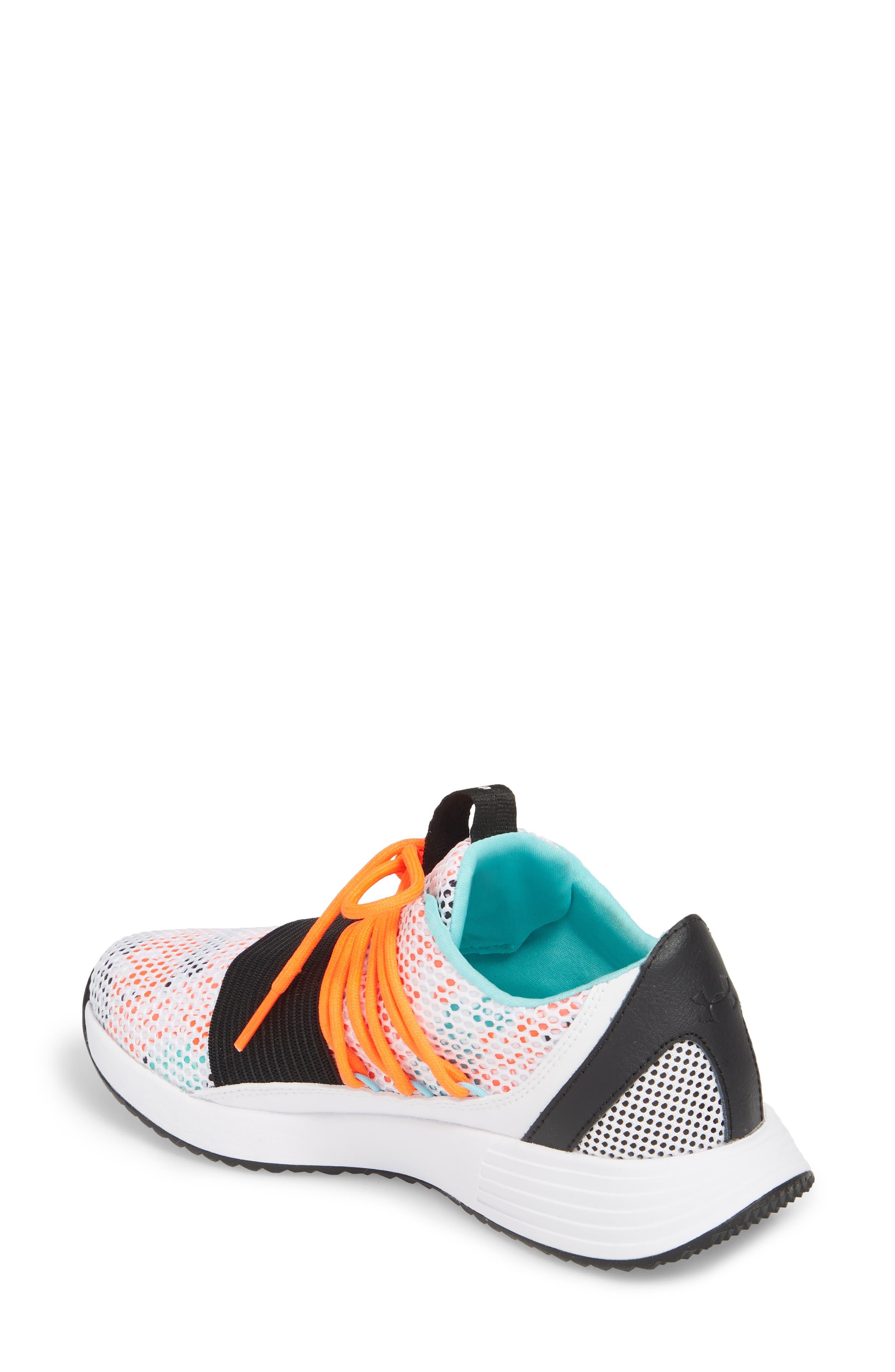 Alternate Image 2  - Under Armour Breathe Low Top Sneaker (Women)