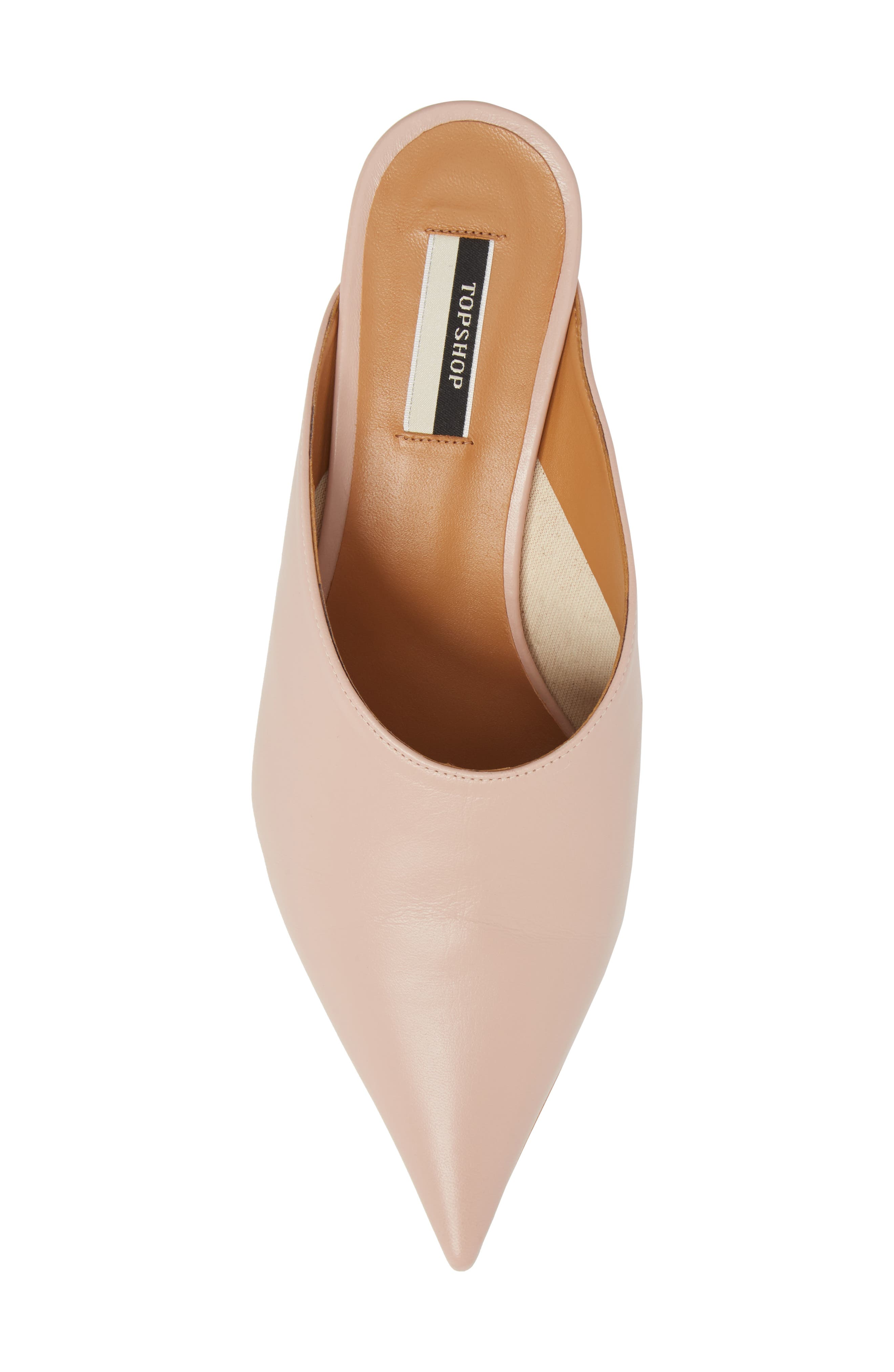 Juniper Ball Heel Mule,                             Alternate thumbnail 5, color,                             Light Pink