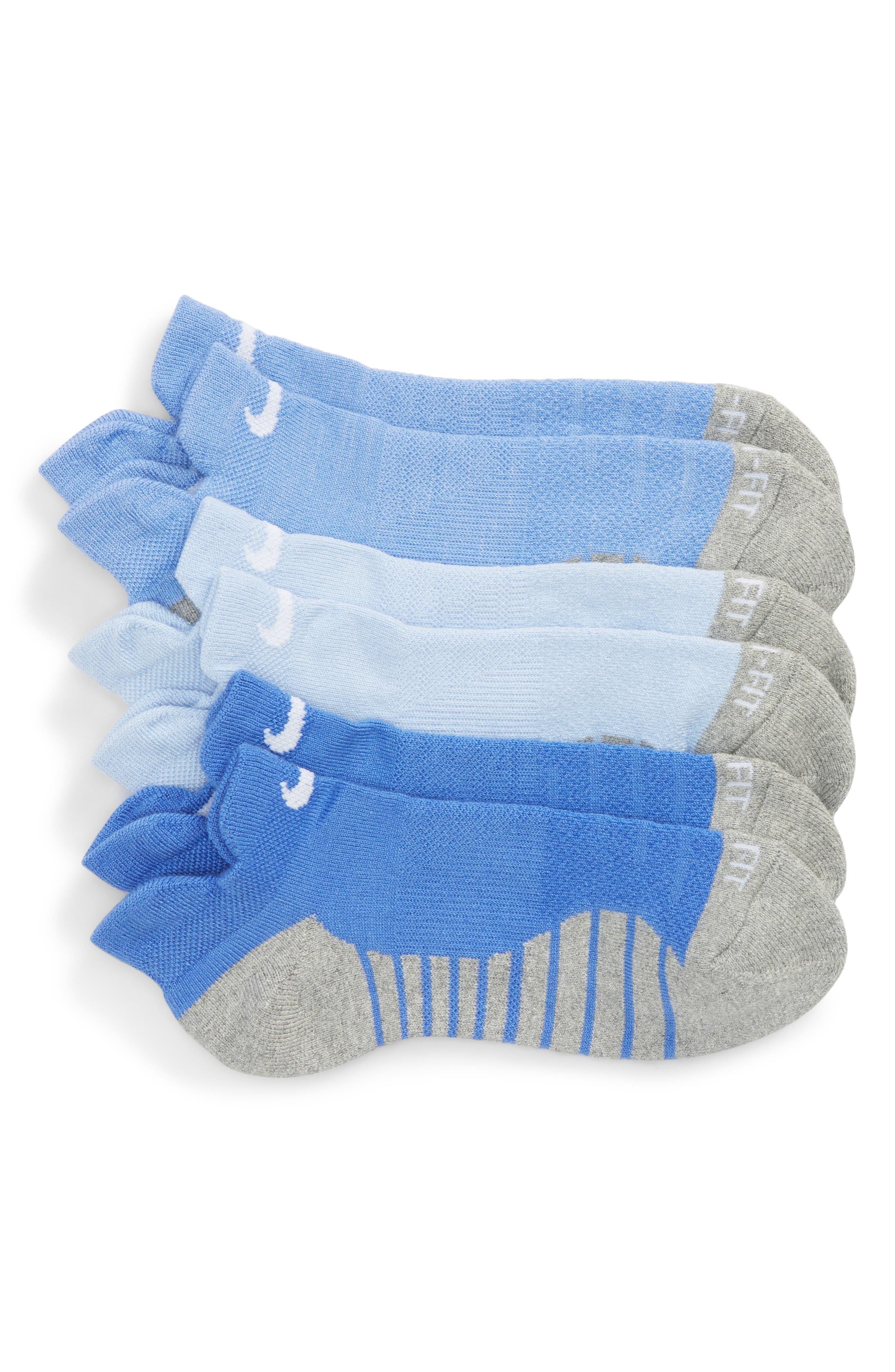 Alternate Image 1 Selected - Nike Dry 3-Pack Cushioned Low Cut Socks