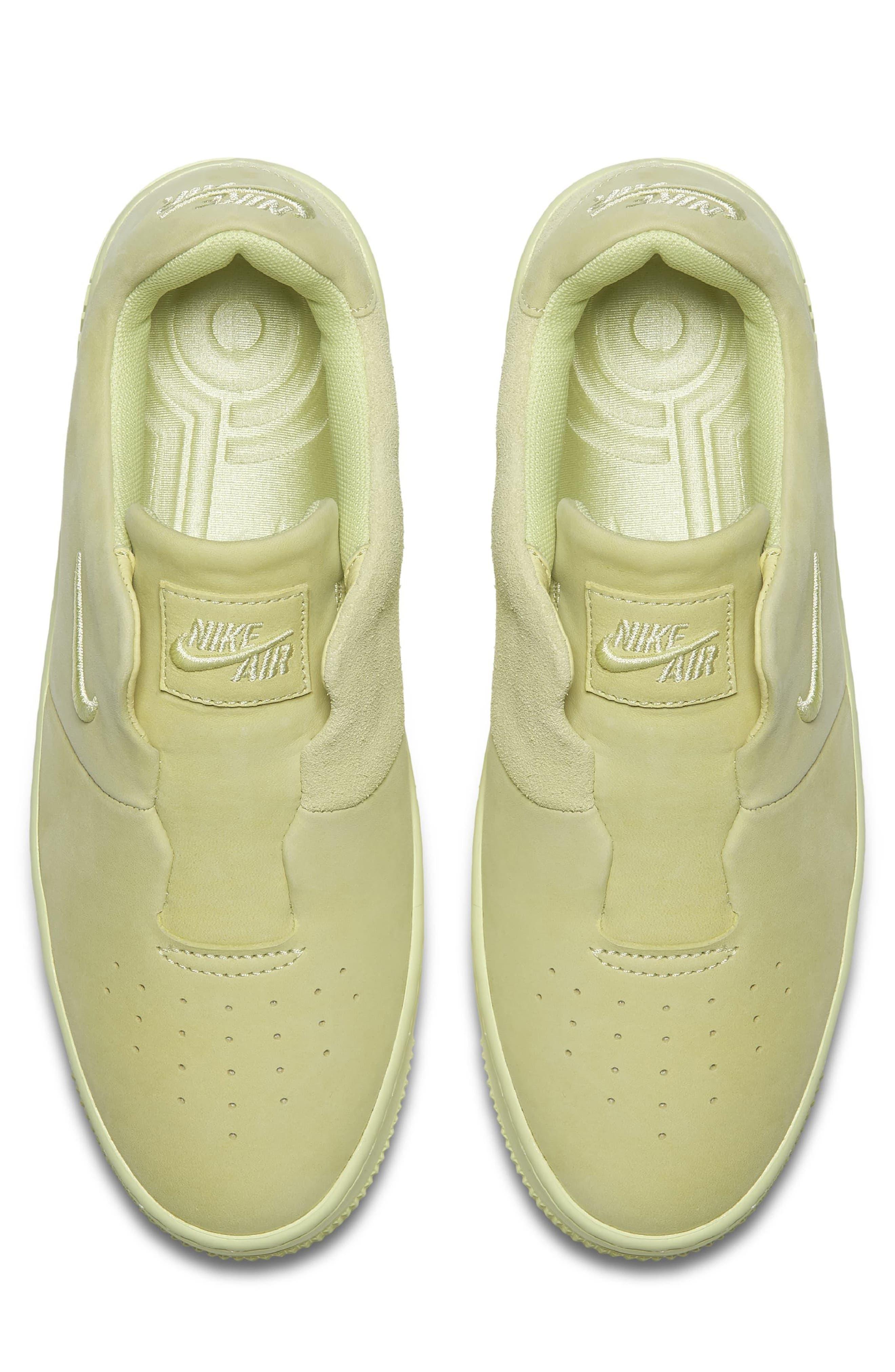 Air Force 1 Sage XX Sneaker,                             Alternate thumbnail 4, color,                             Luminous Green