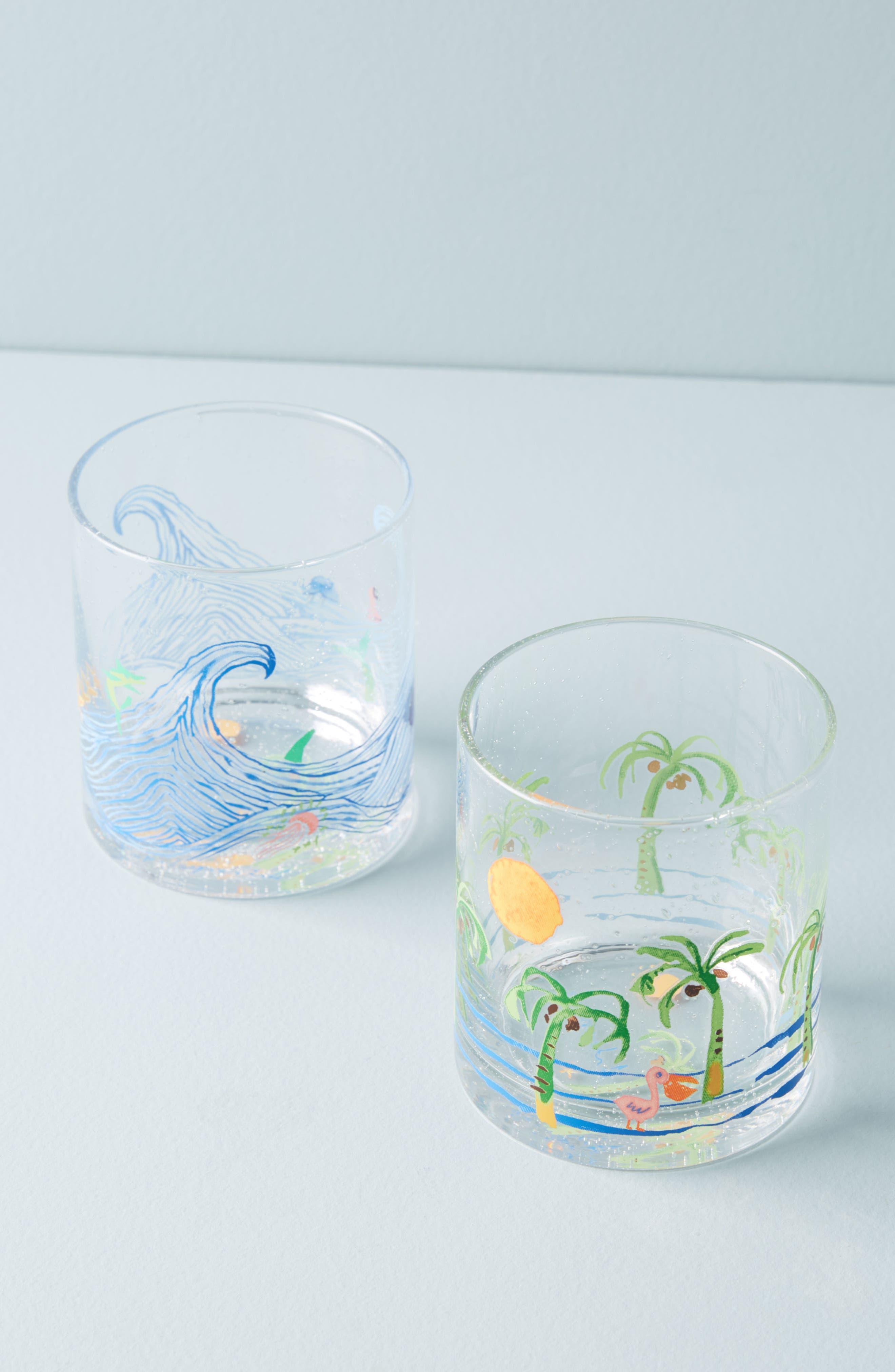 Boca Raton Glass,                             Alternate thumbnail 3, color,                             Blue Combo