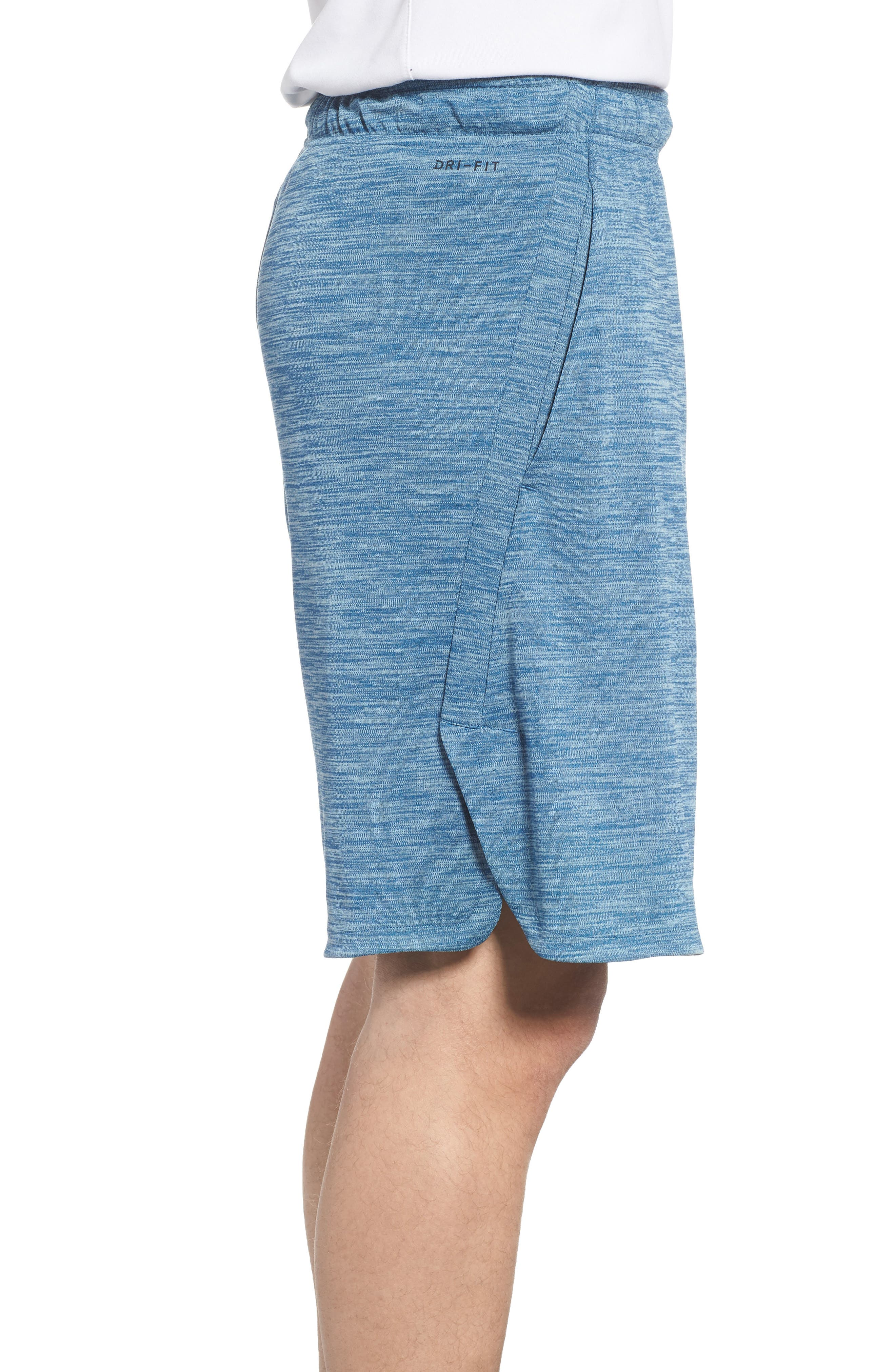 Dry Training Shorts,                             Alternate thumbnail 3, color,                             Blue Force/ Black