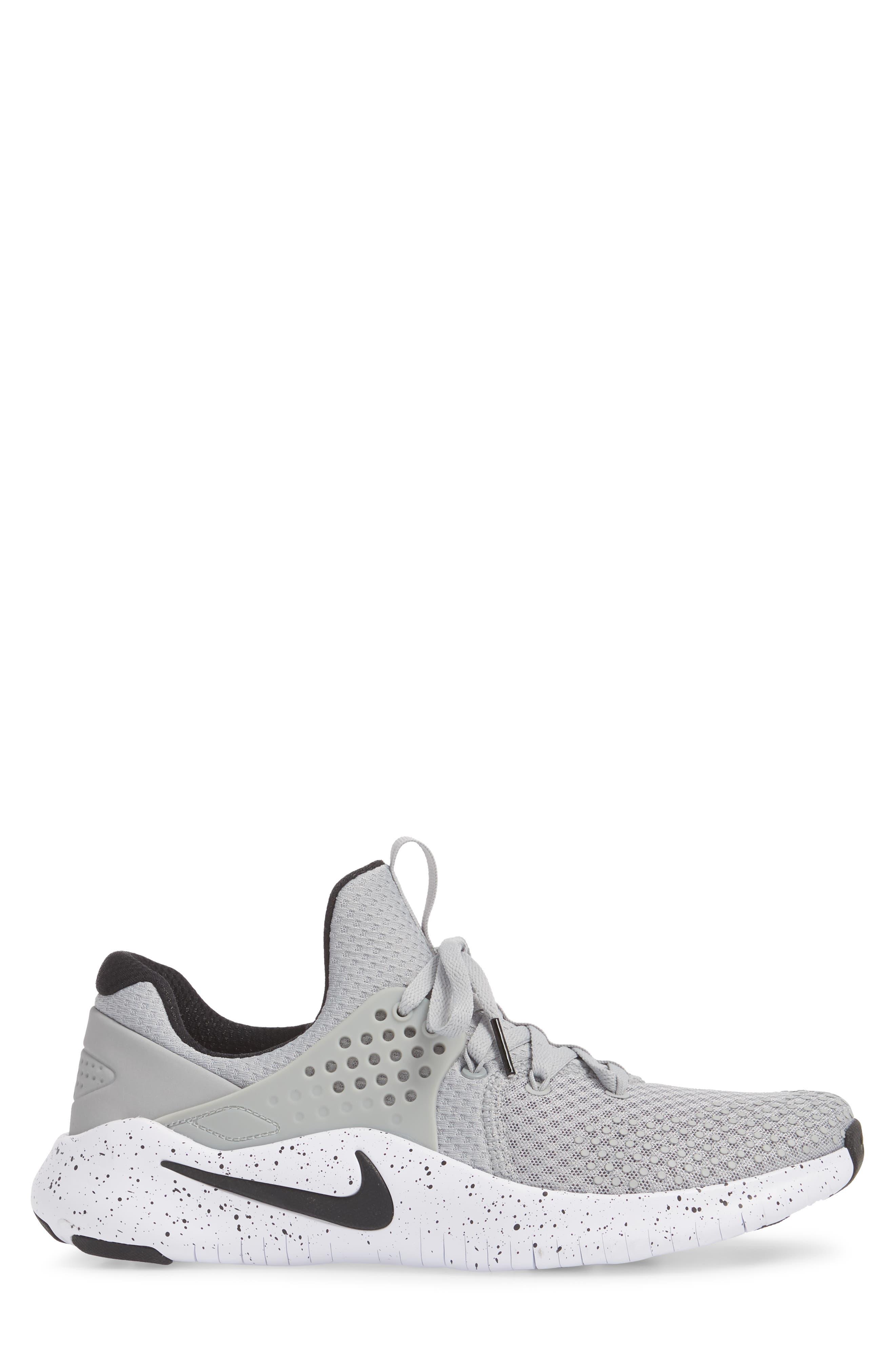 Free TR V8 Training Shoe,                             Alternate thumbnail 3, color,                             Matte Silver/ Black